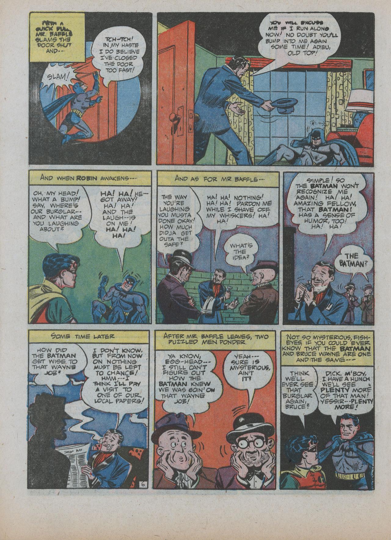 Read online Detective Comics (1937) comic -  Issue #63 - 8