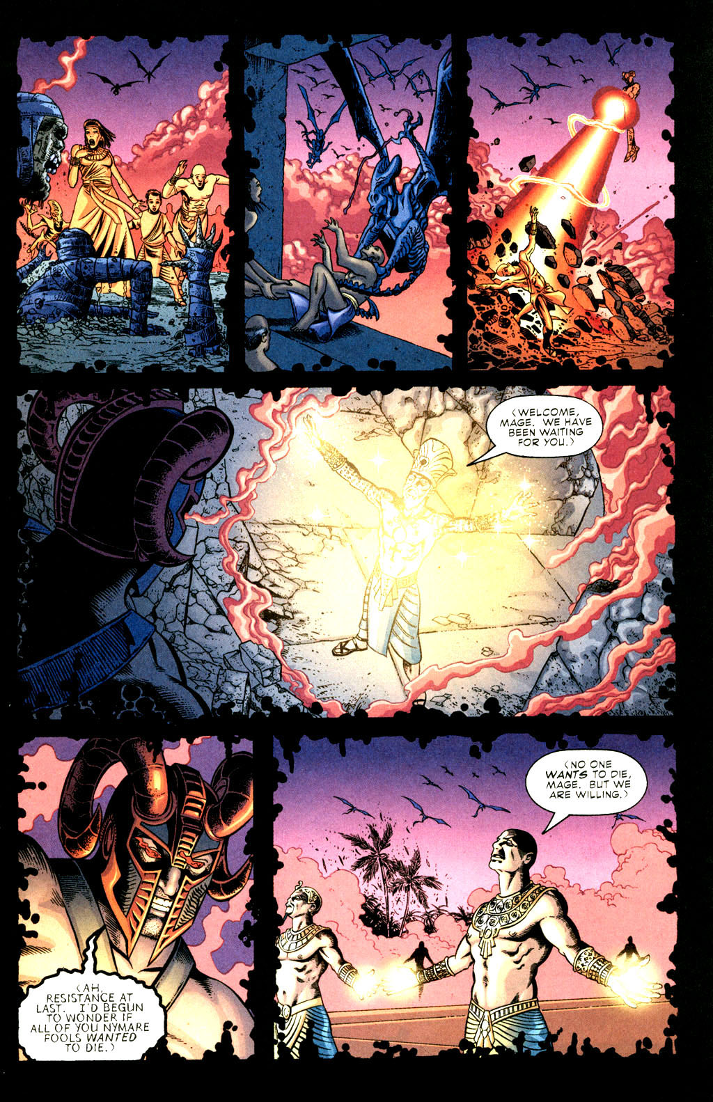 Read online Doctor Fate (2003) comic -  Issue #3 - 4