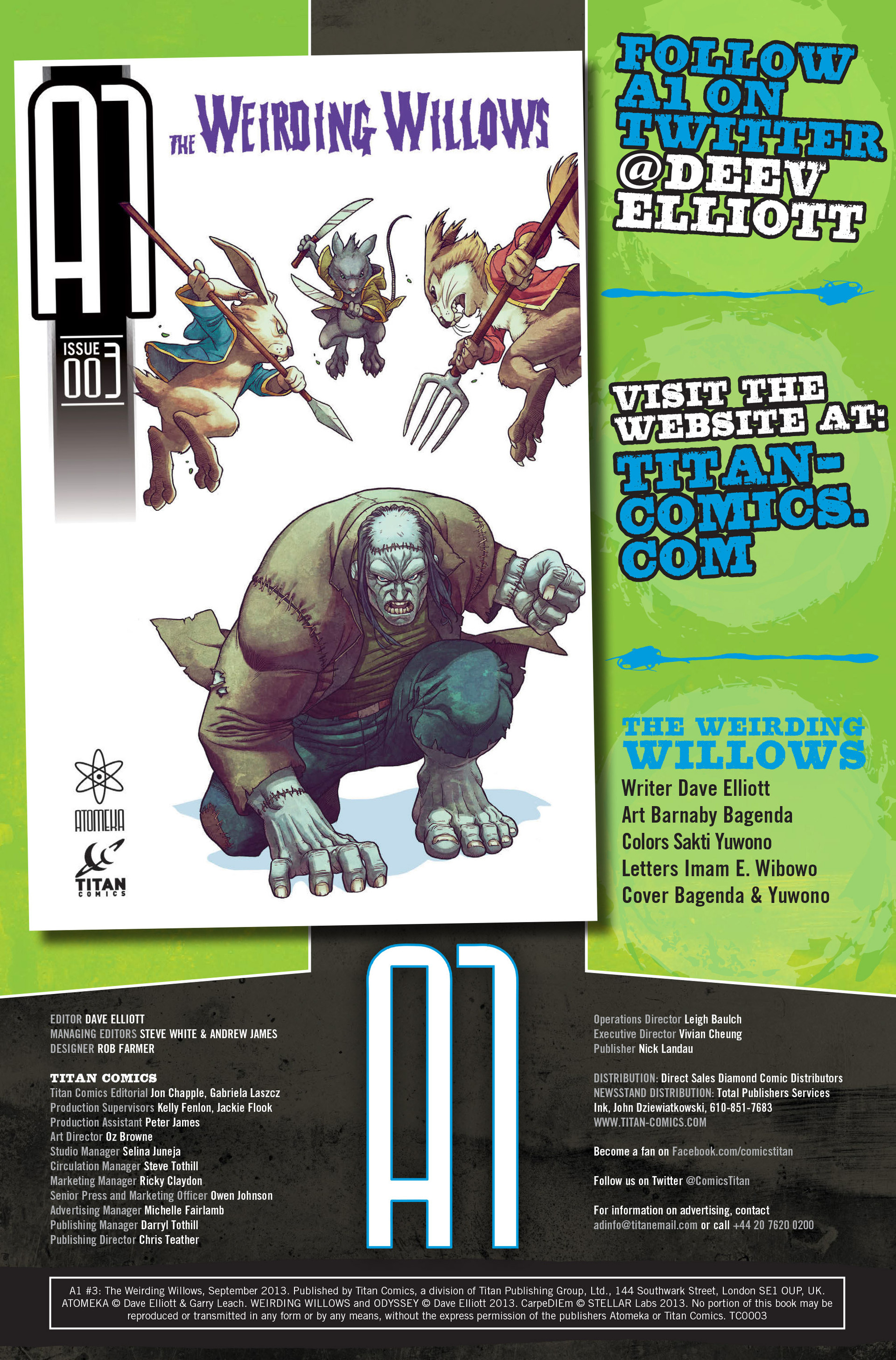 Read online A1 comic -  Issue #3 - 2