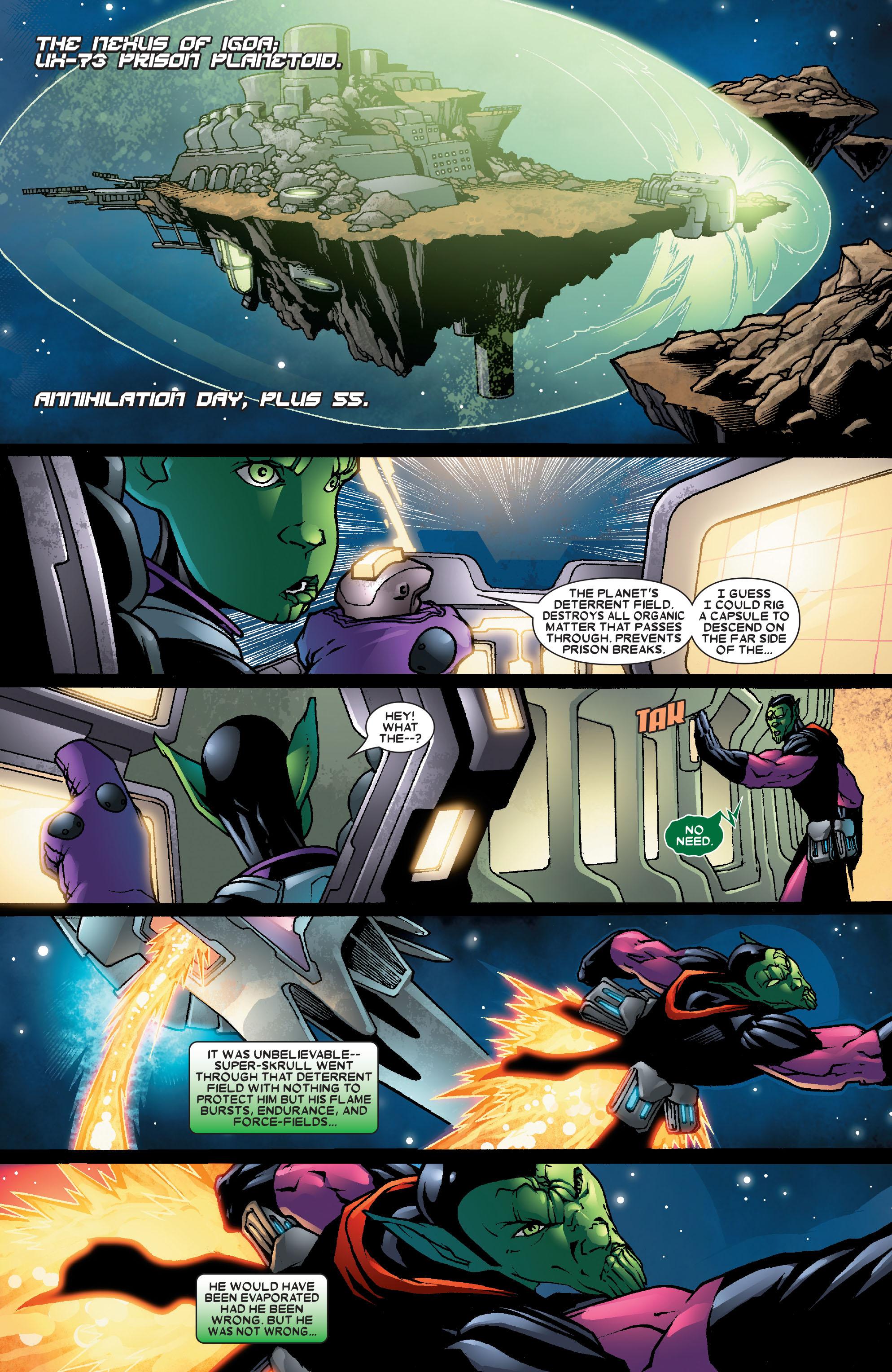 Read online Annihilation: Super-Skrull comic -  Issue #2 - 10