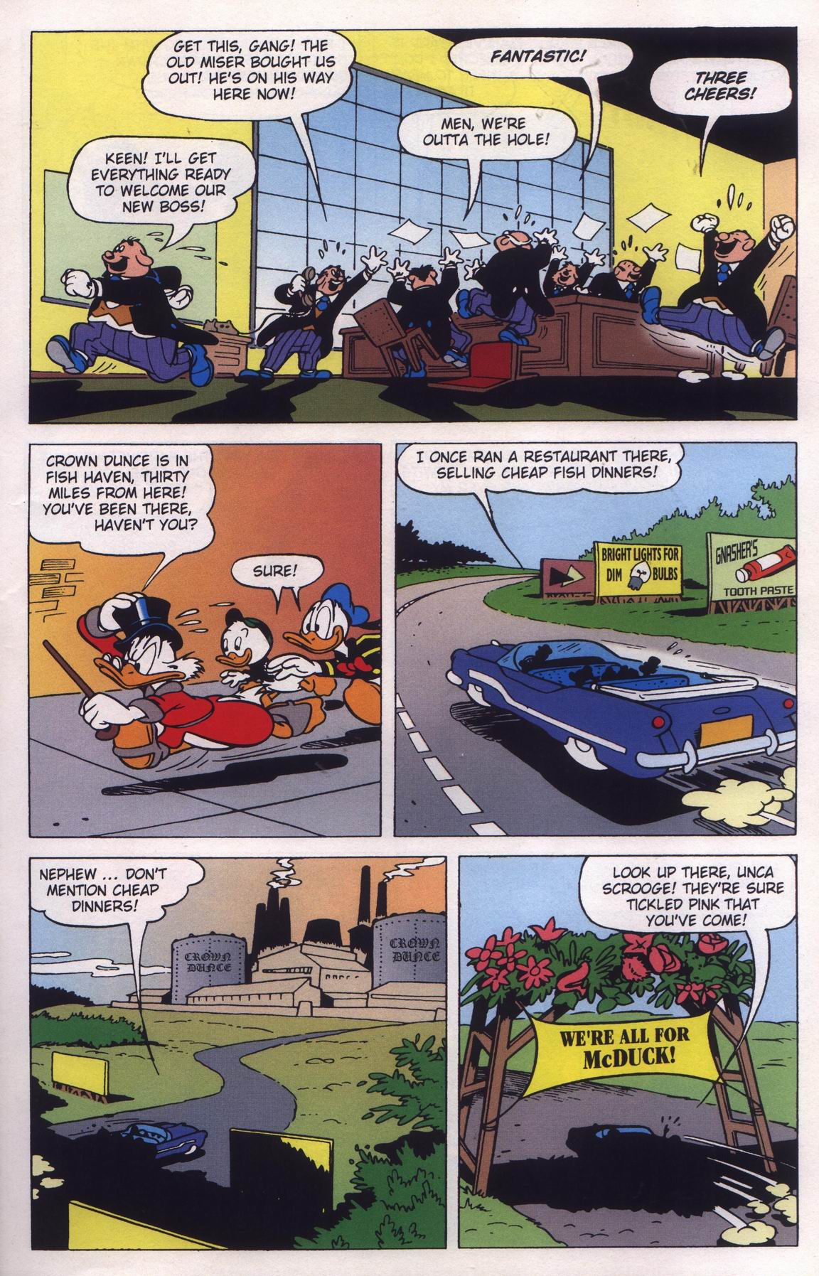 Read online Uncle Scrooge (1953) comic -  Issue #315 - 21