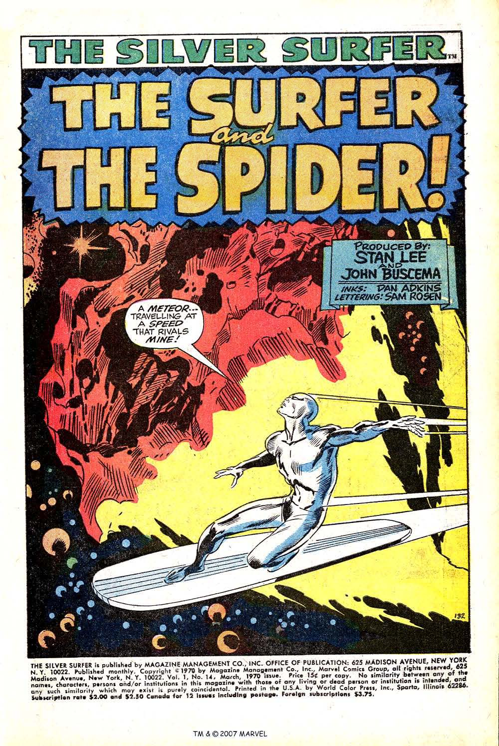Read online Silver Surfer (1968) comic -  Issue #14 - 3