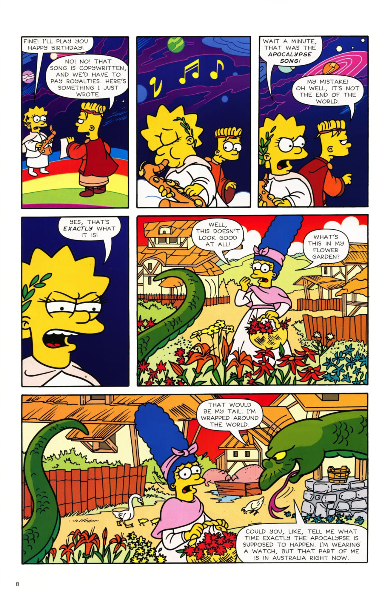 Read online Simpsons Comics comic -  Issue #168 - 8