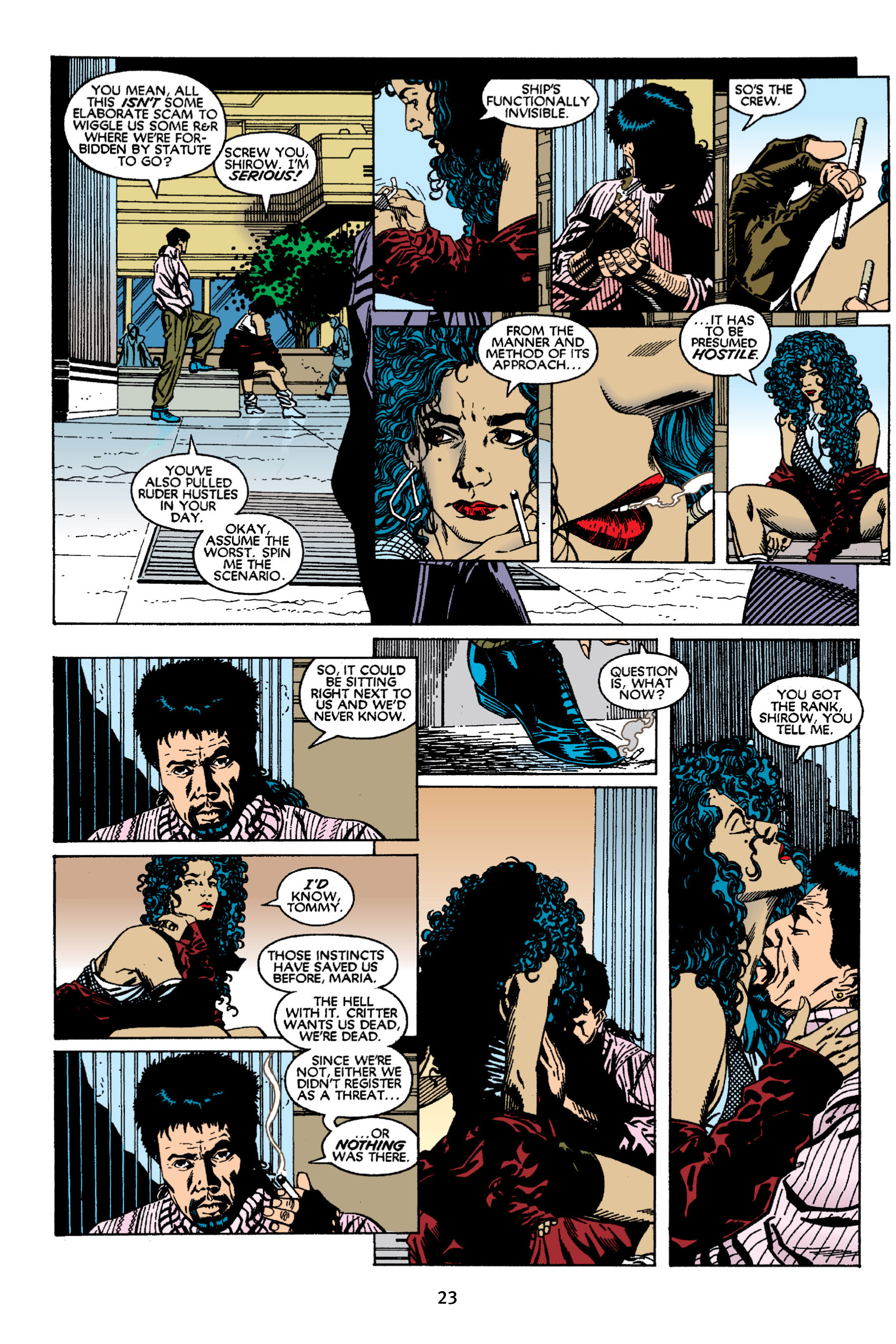 Read online Aliens vs. Predator Omnibus comic -  Issue # _TPB 2 Part 1 - 23