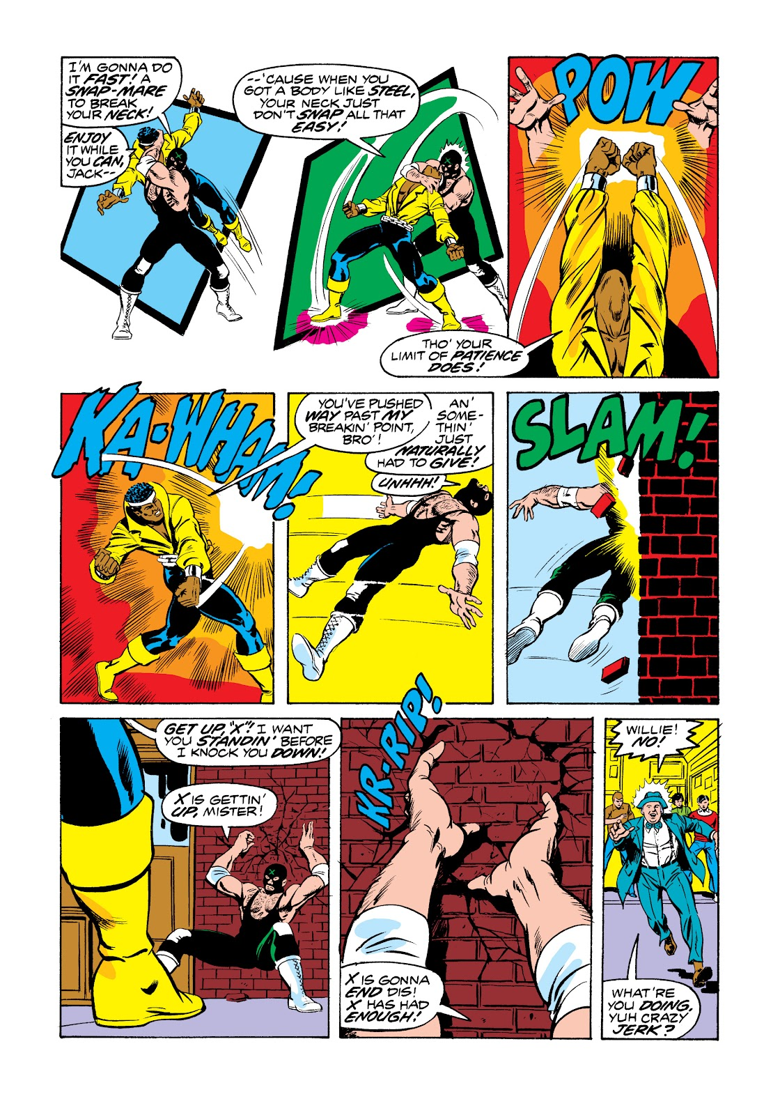 Read online Marvel Masterworks: Luke Cage, Power Man comic -  Issue # TPB 2 (Part 3) - 17
