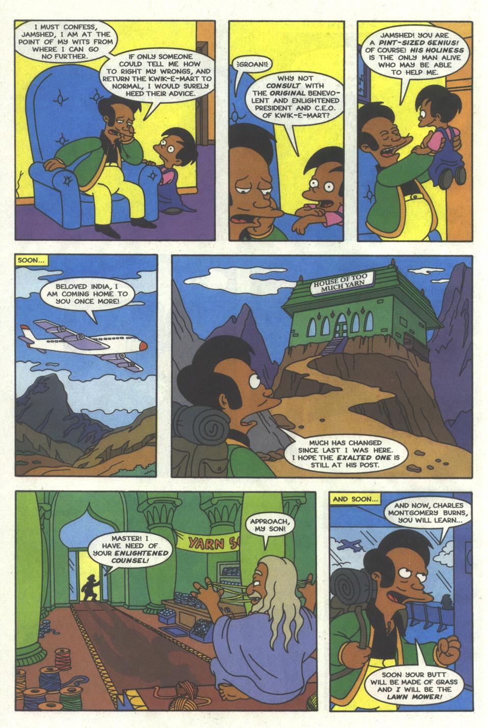 Read online Simpsons Comics comic -  Issue #22 - 21