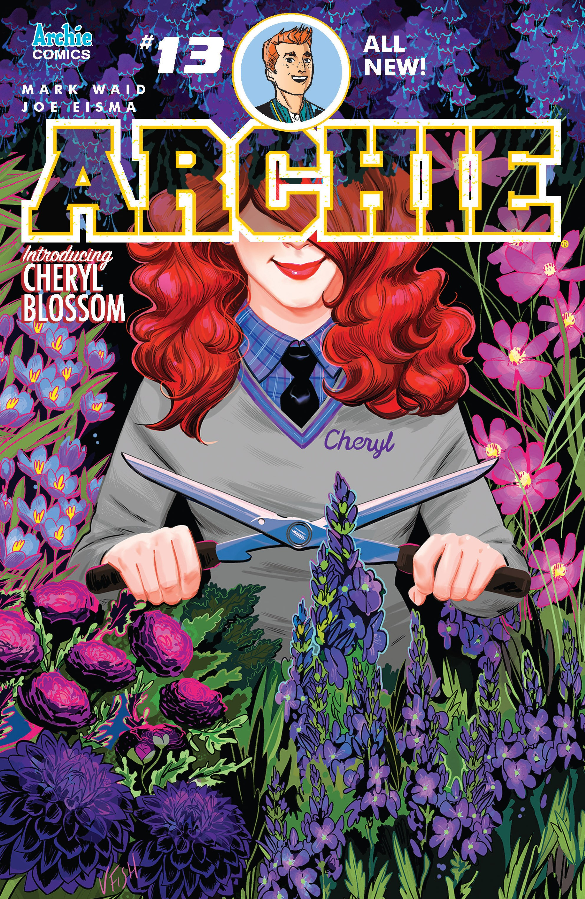 Read online Archie (2015) comic -  Issue #13 - 1