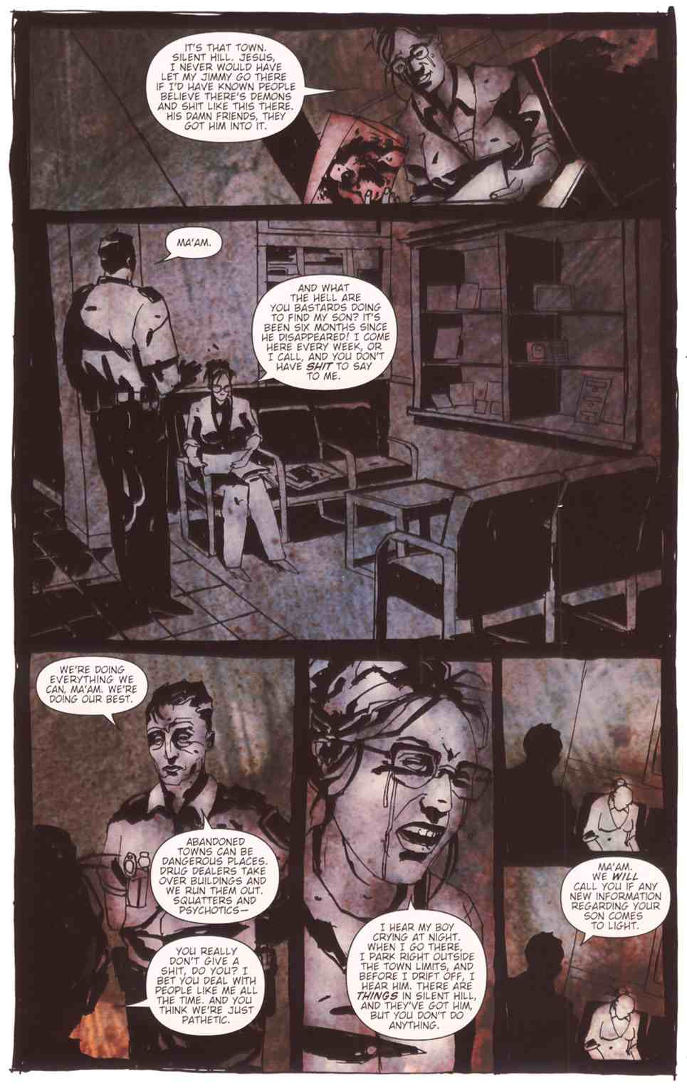 Read online Silent Hill: The Grinning Man comic -  Issue # Full - 10