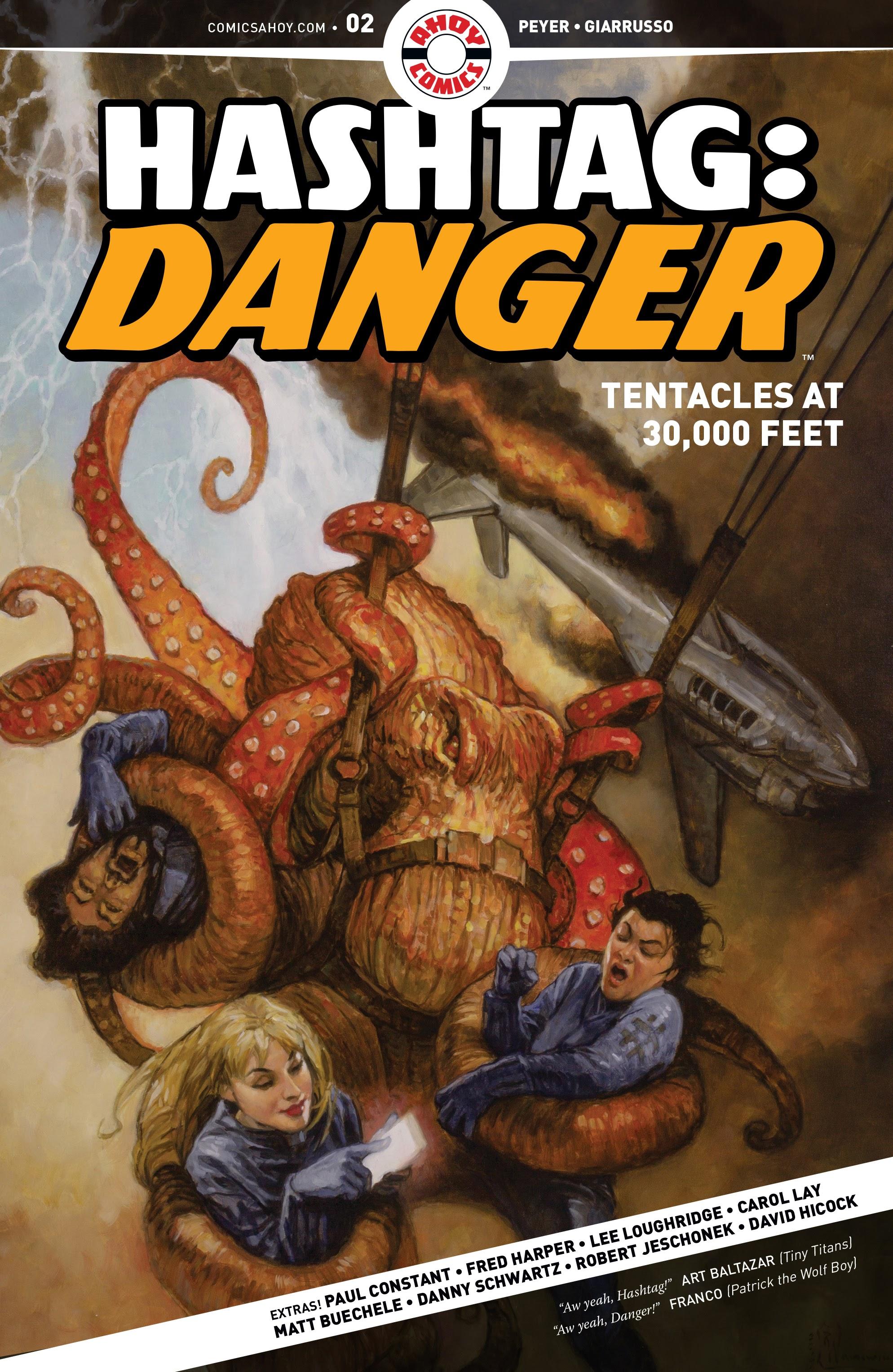 Hashtag Danger 2 Page 1