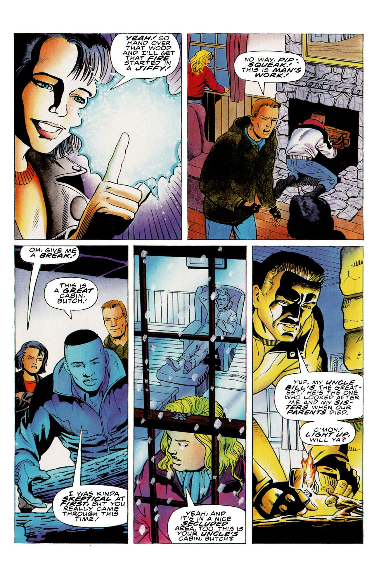 Read online Harbinger (1992) comic -  Issue #27 - 9