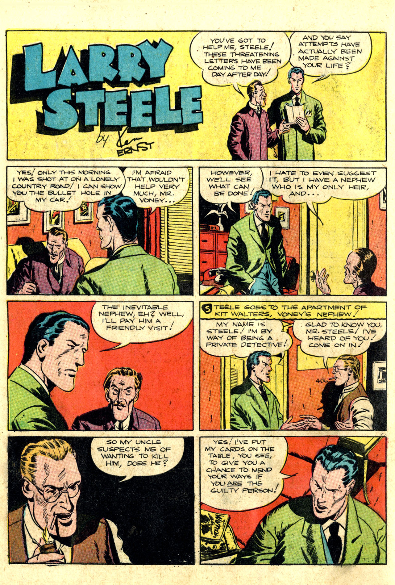 Read online Detective Comics (1937) comic -  Issue #44 - 24