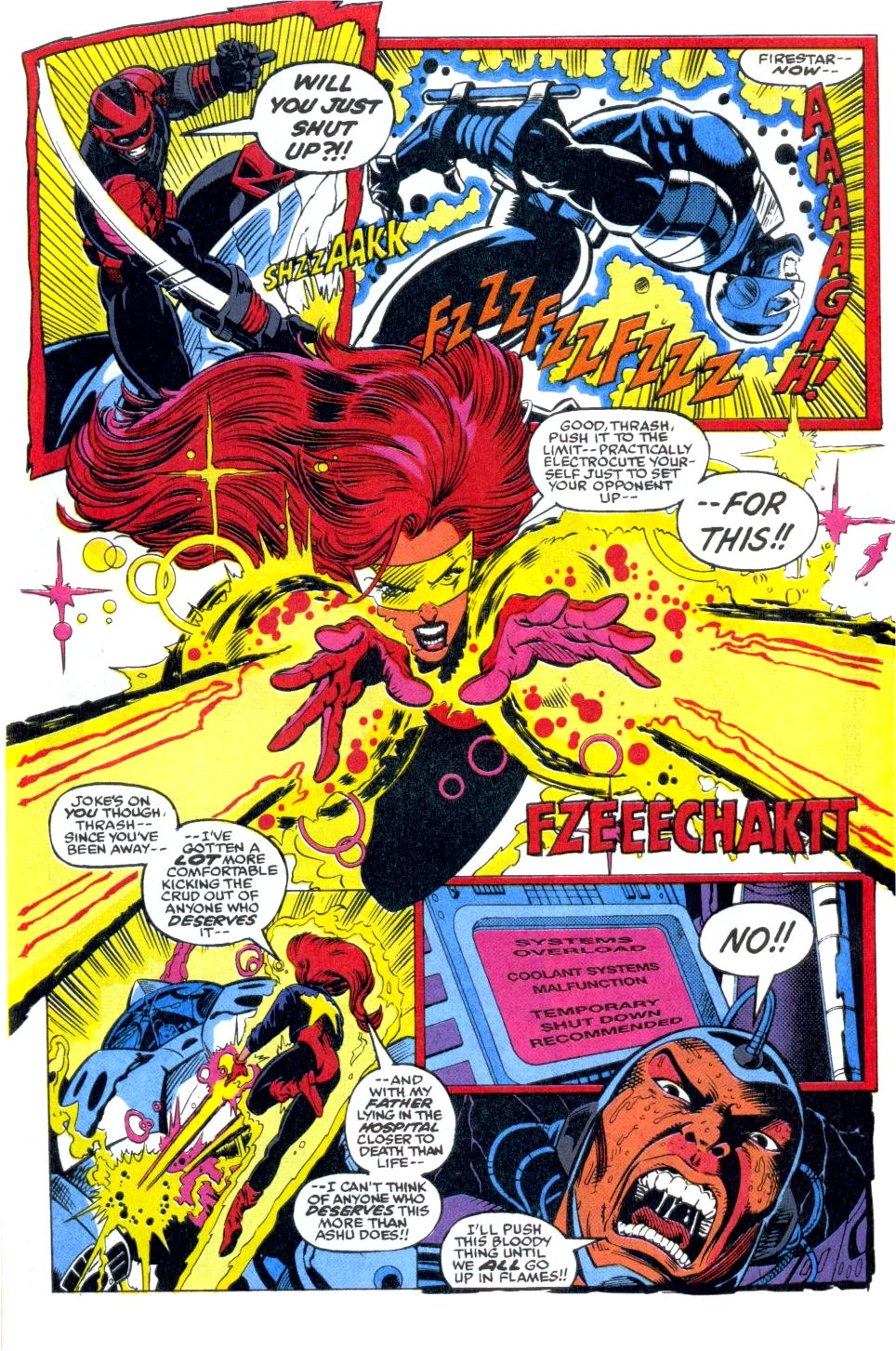 The New Warriors Issue #38 #42 - English 15