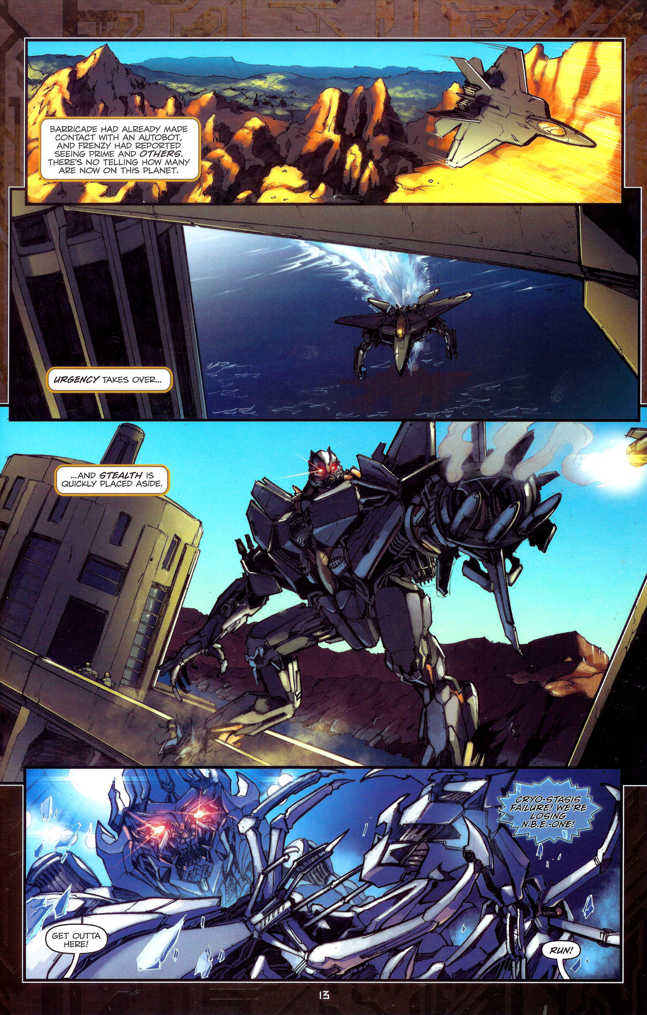 Read online Transformers: The Reign of Starscream comic -  Issue #1 - 16