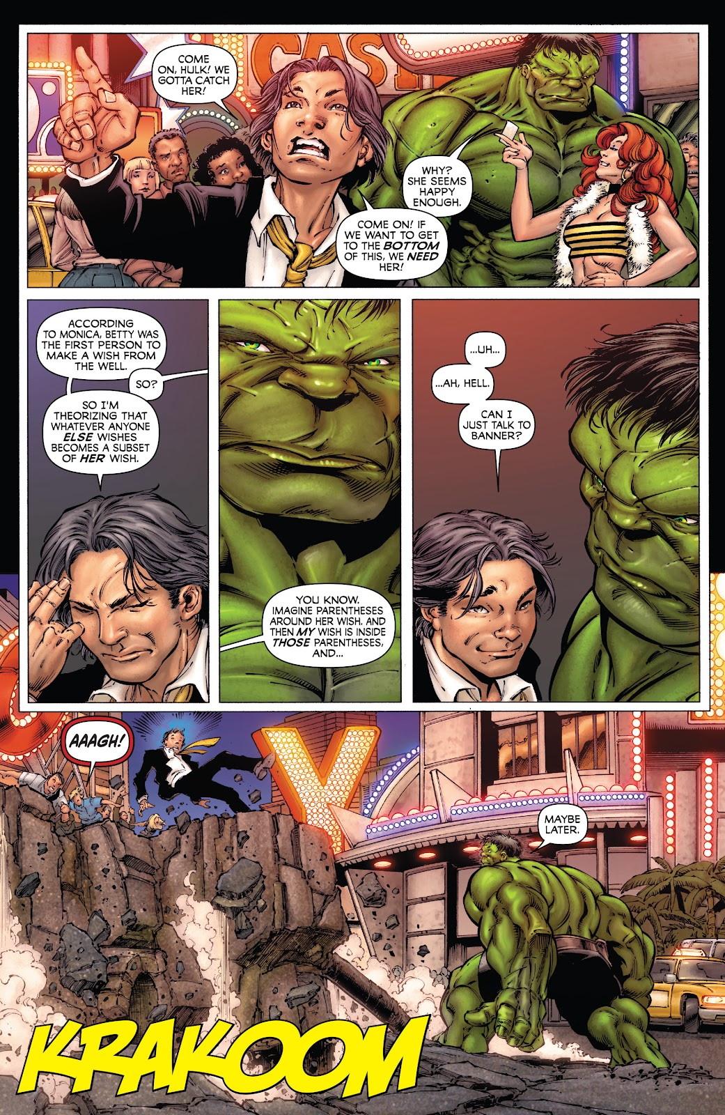 Read online Incredible Hulks (2010) comic -  Issue # _TPB Heart of the Monster - 33