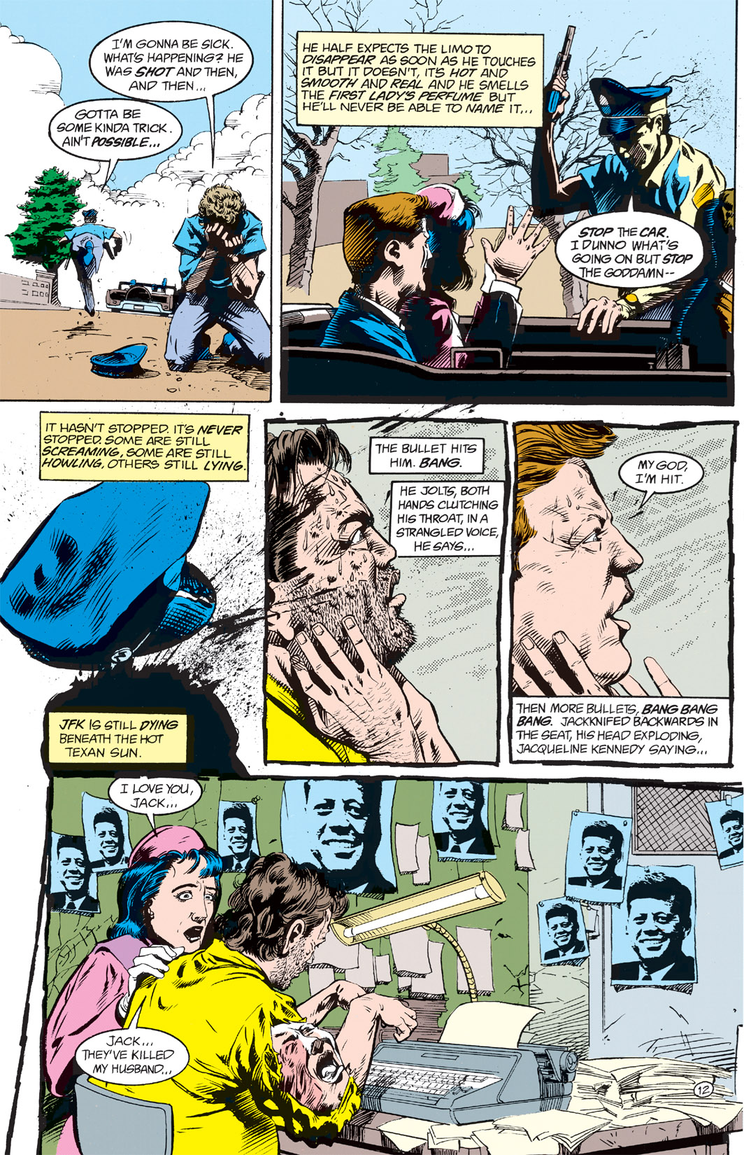 Read online Shade, the Changing Man comic -  Issue #2 - 14