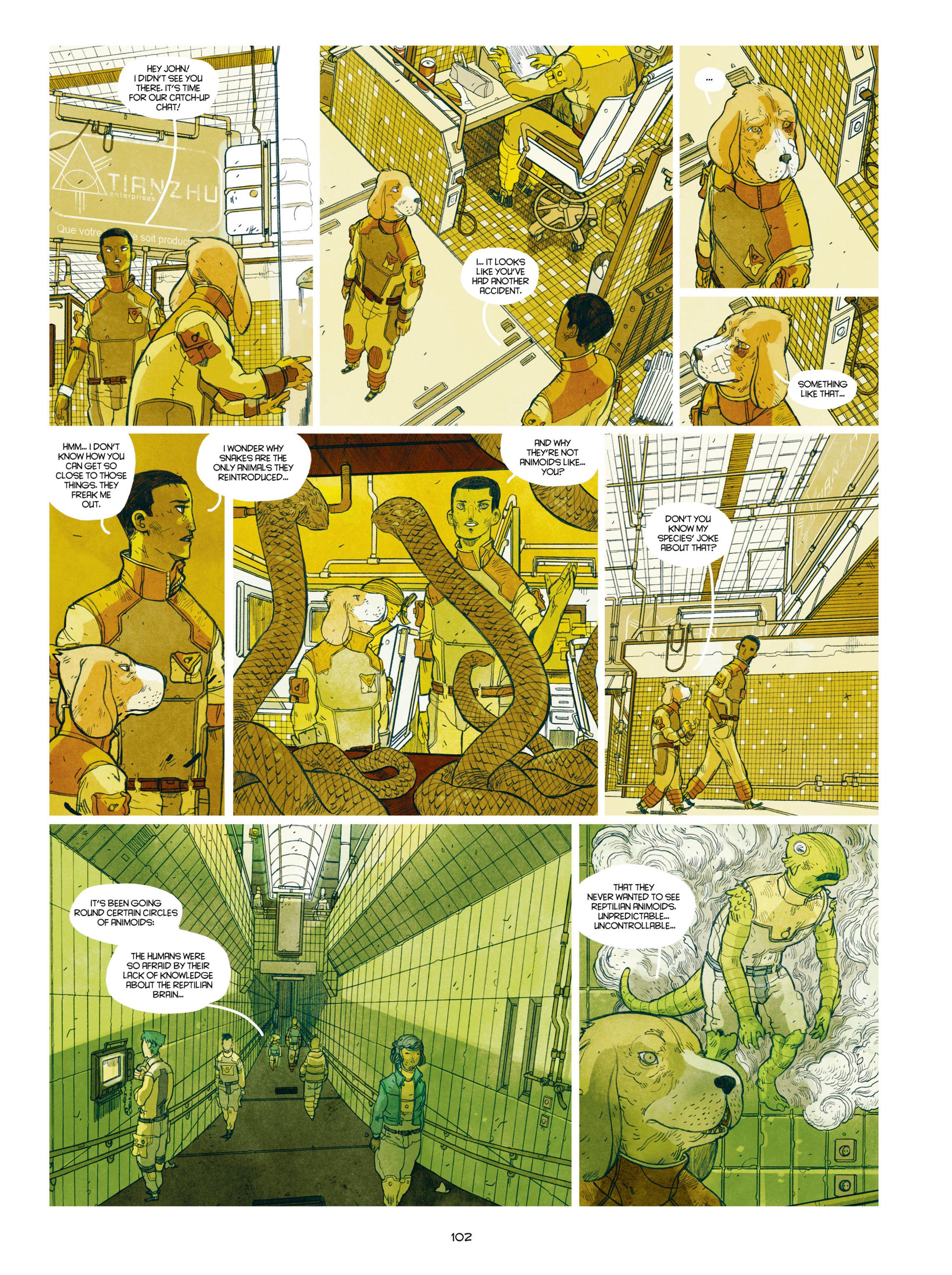 Read online Shangri-La comic -  Issue # Full - 103