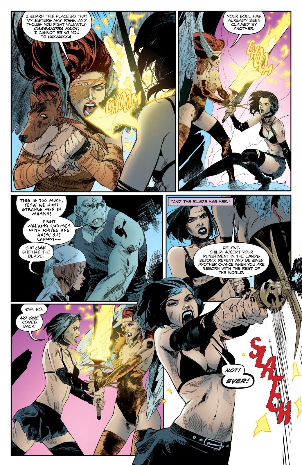 Read online Hack/Slash vs. Chaos comic -  Issue #4 - 7