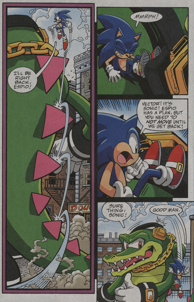 Read online Sonic X comic -  Issue #39 - 14