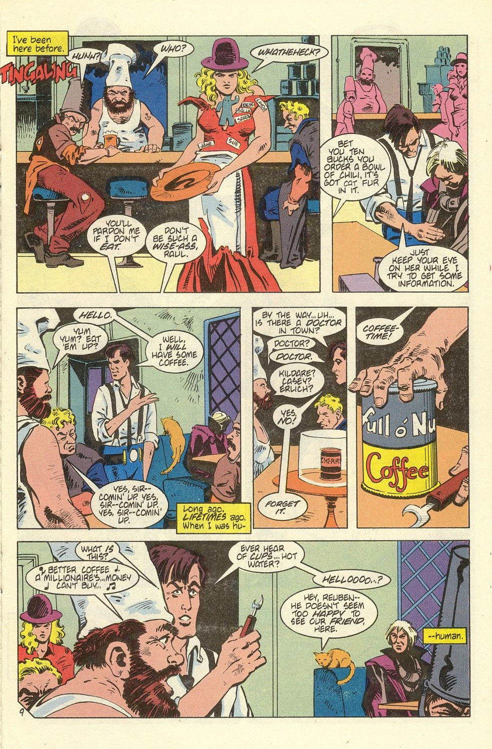 Read online American Flagg! comic -  Issue #40 - 11