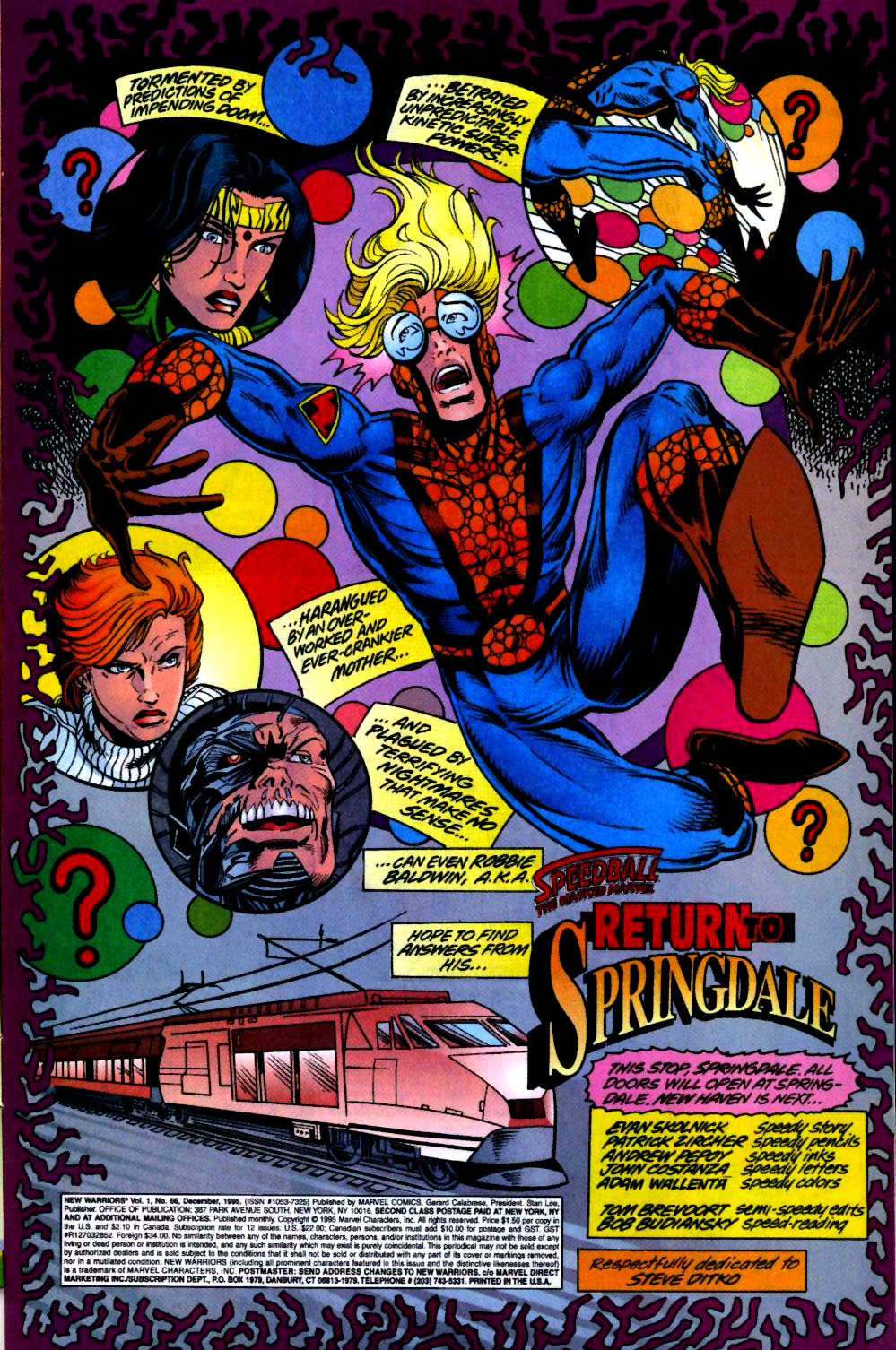 The New Warriors Issue #66 #70 - English 2