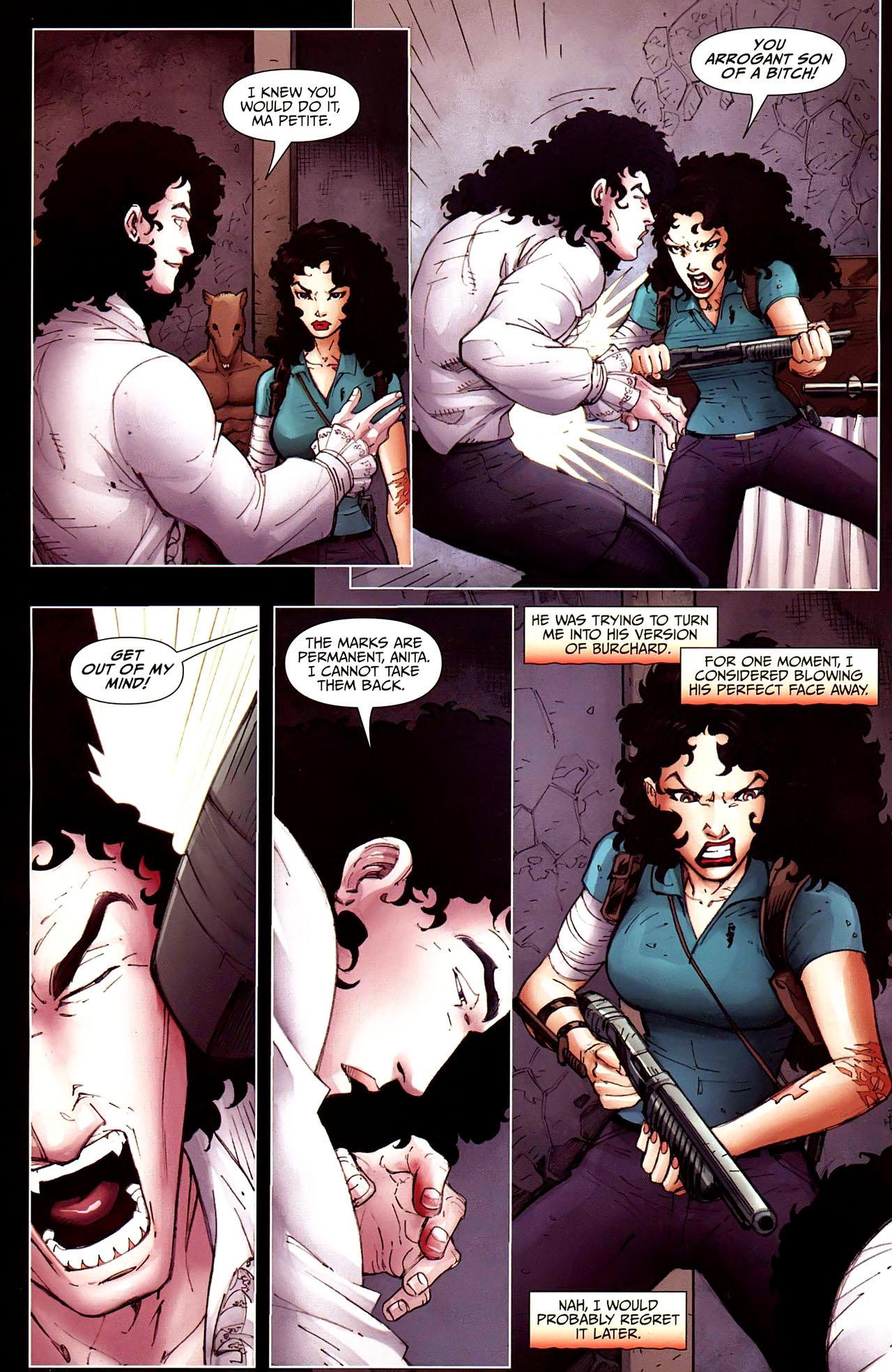 Read online Anita Blake, Vampire Hunter: Guilty Pleasures comic -  Issue #12 - 19