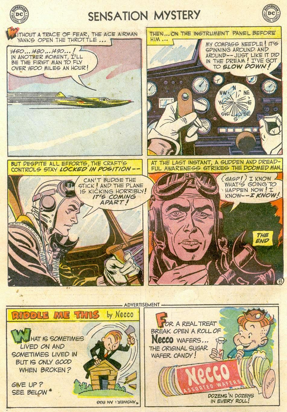 Read online Sensation (Mystery) Comics comic -  Issue #110 - 10