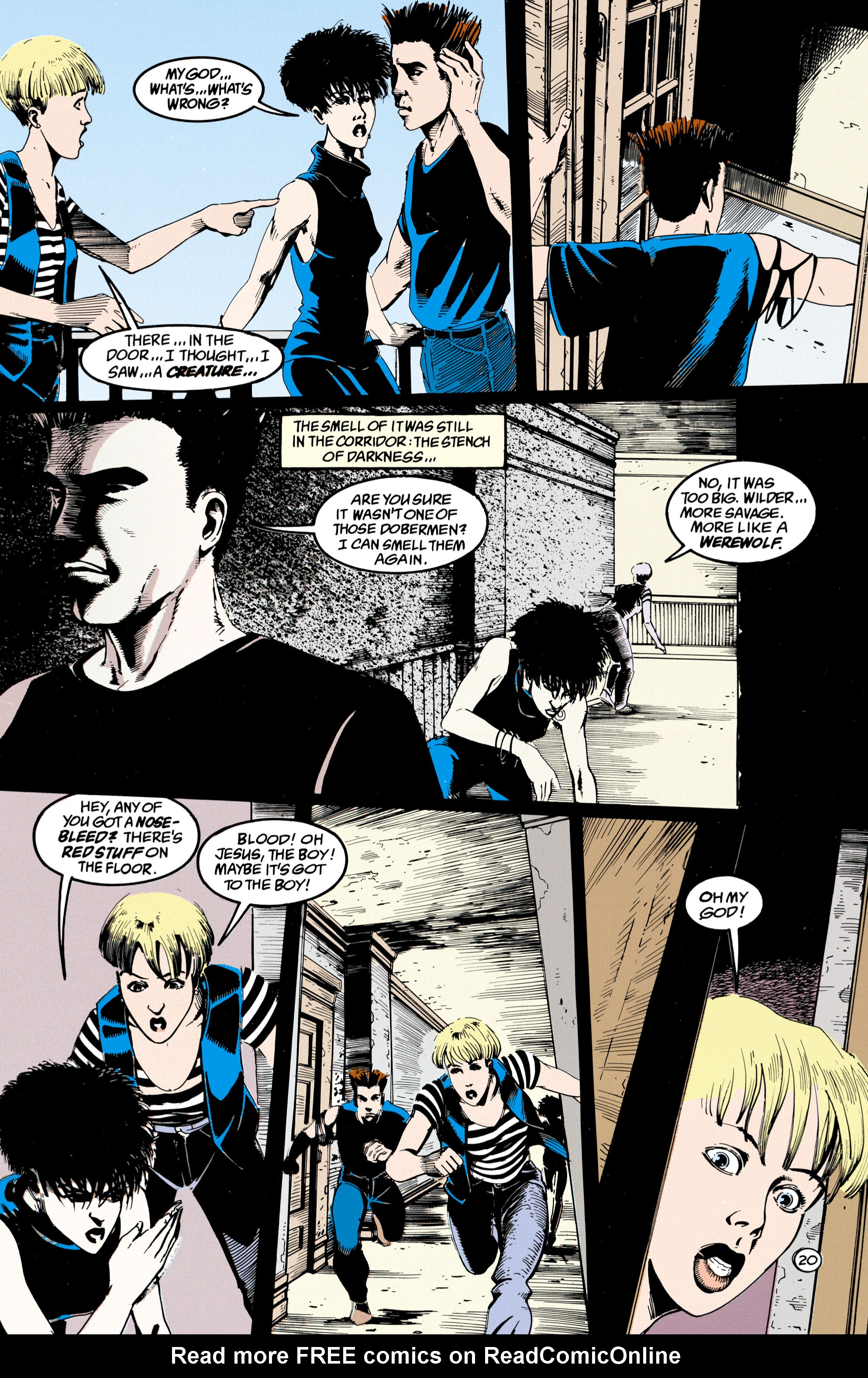 Read online Shade, the Changing Man comic -  Issue #36 - 21
