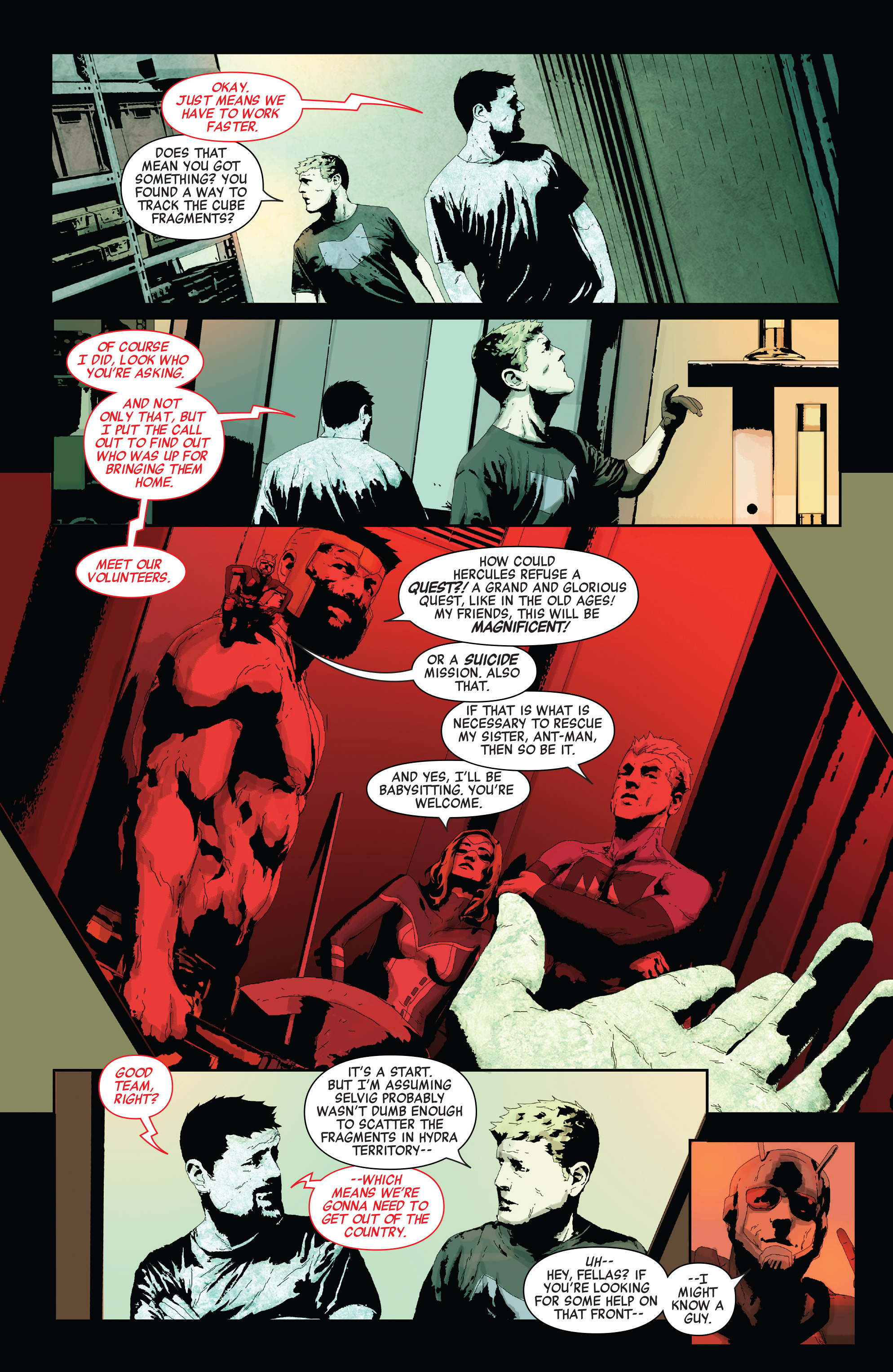 Read online Secret Empire comic -  Issue #2 - 24
