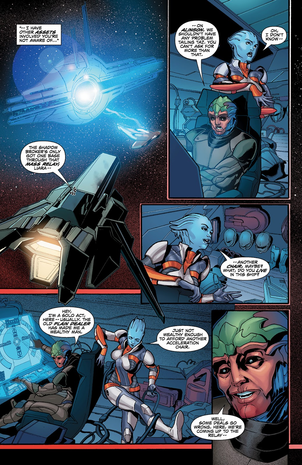 Mass Effect: Redemption Issue #3 #3 - English 6