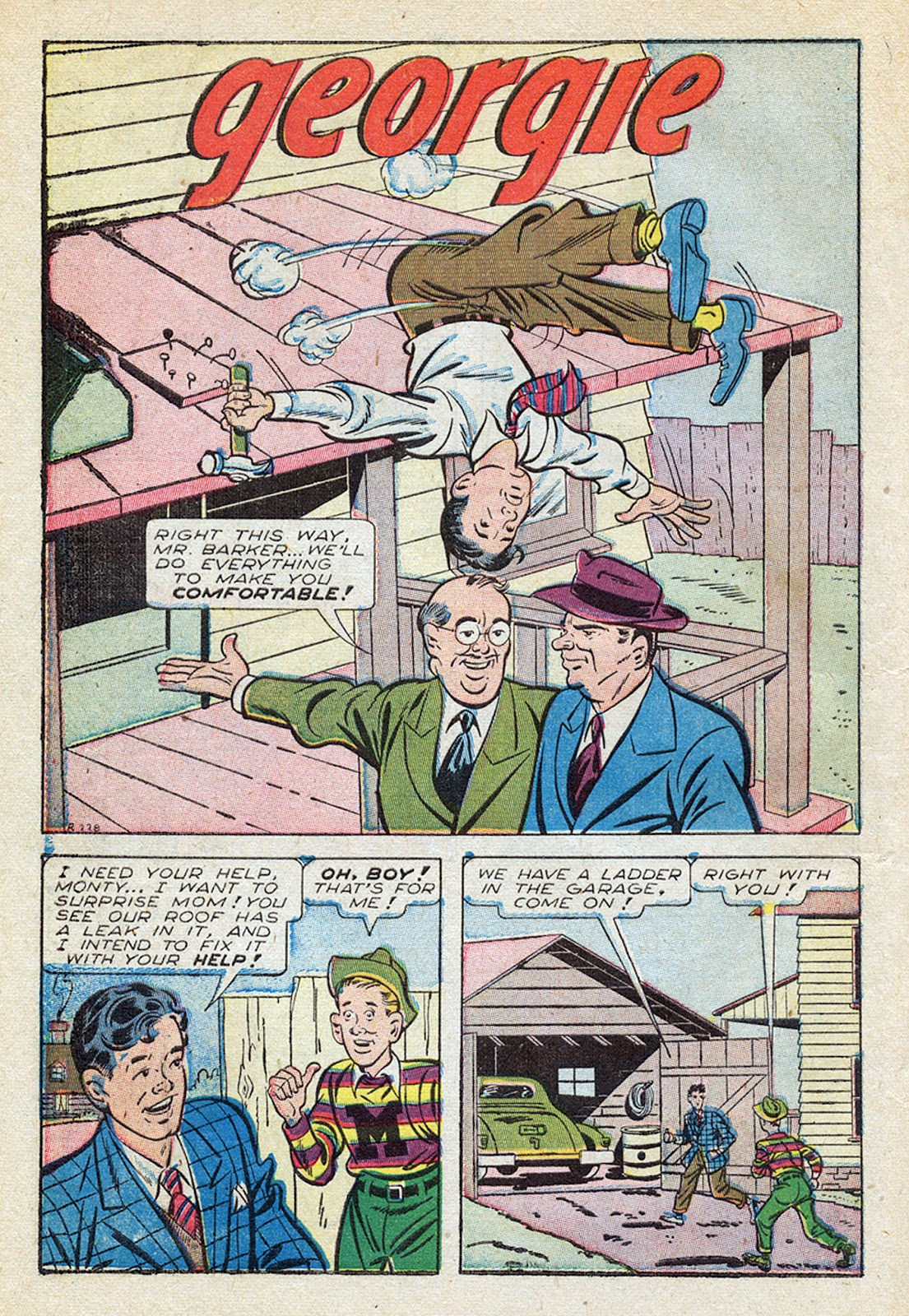 Georgie Comics (1945) issue 4 - Page 10