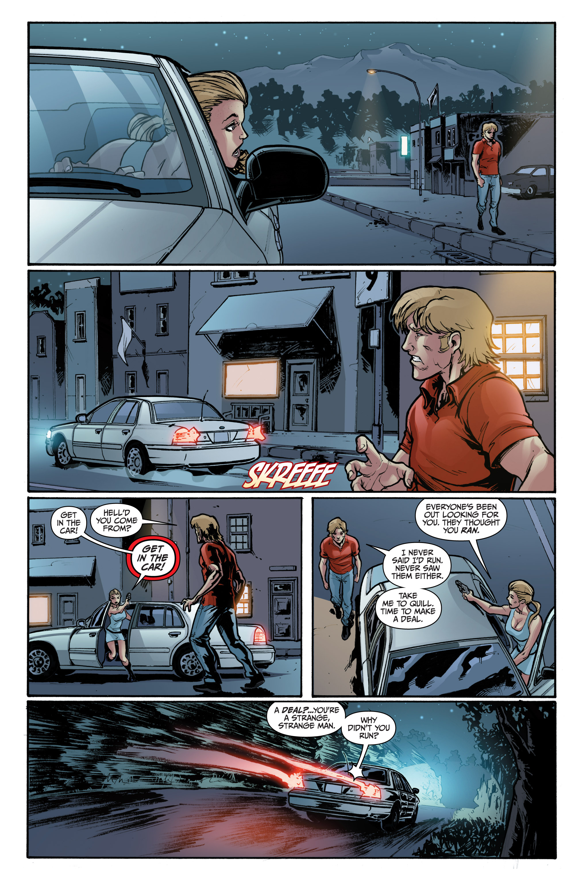 Read online 3 Guns comic -  Issue #1 - 17