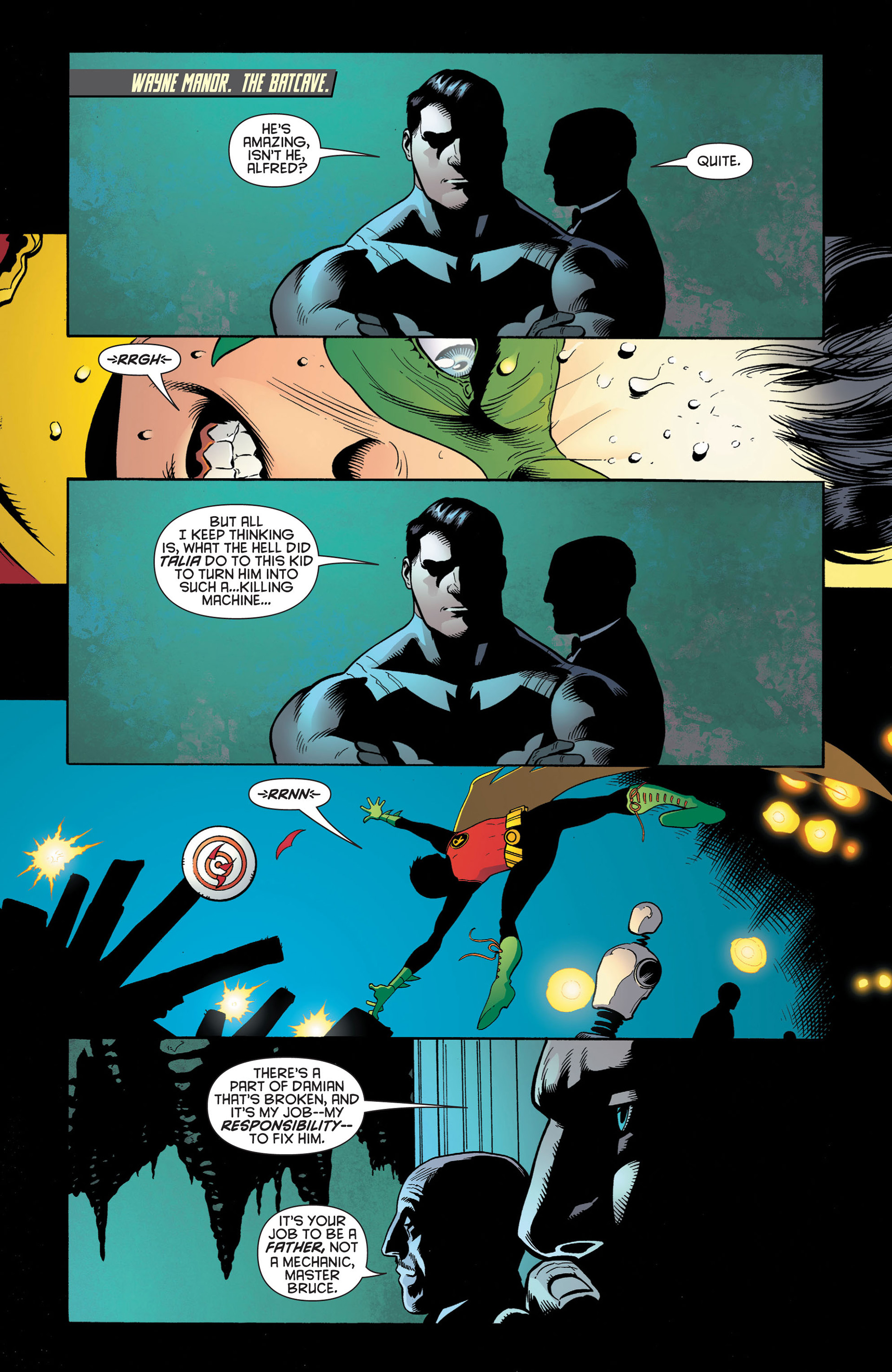 Read online Batman and Robin (2011) comic -  Issue #2 - 2