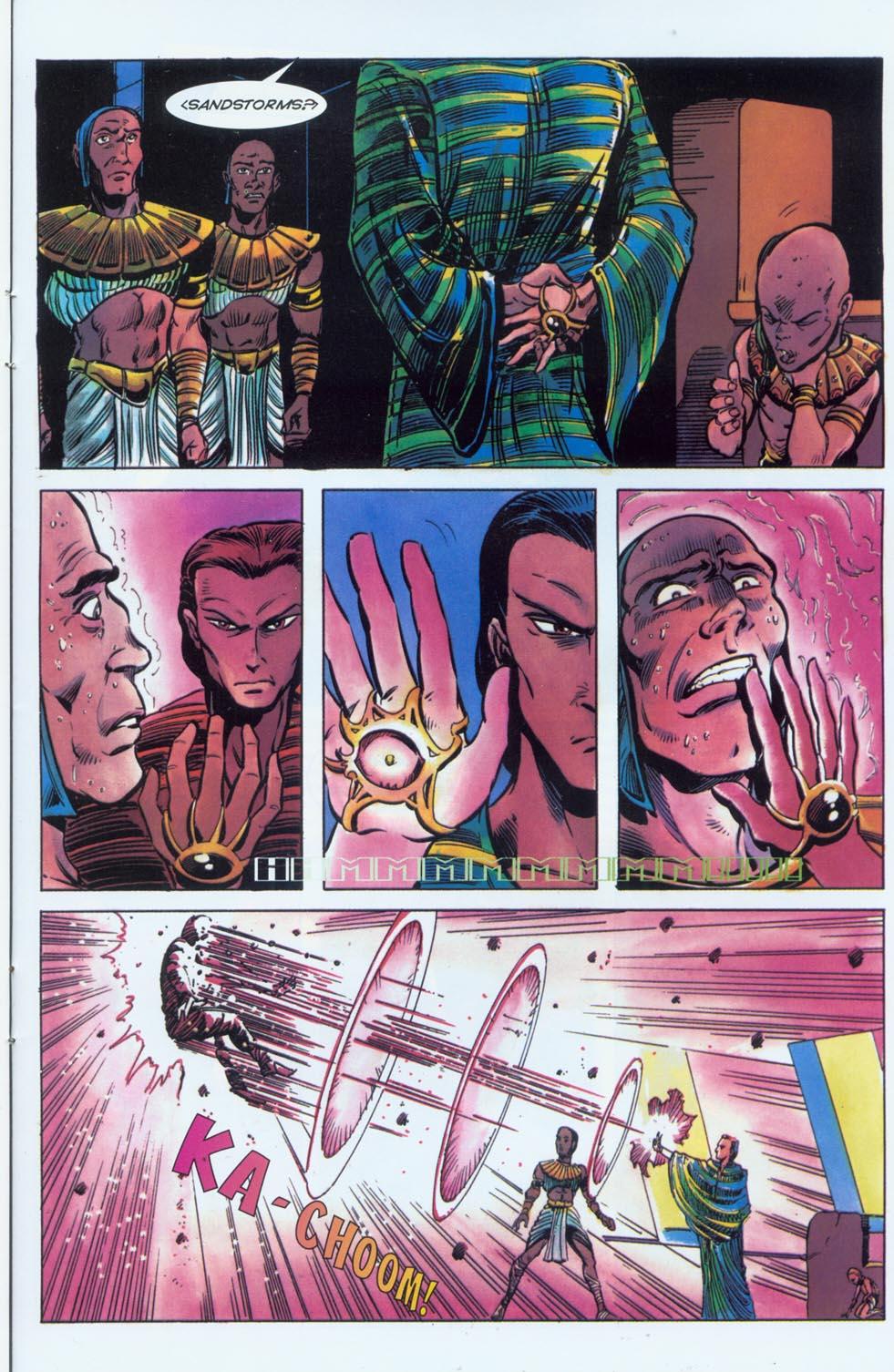 Read online Stargate comic -  Issue #3 - 20