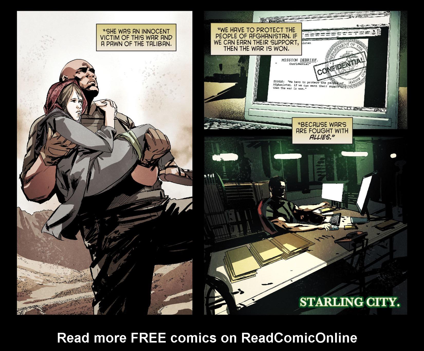Read online Arrow [II] comic -  Issue #4 - 21
