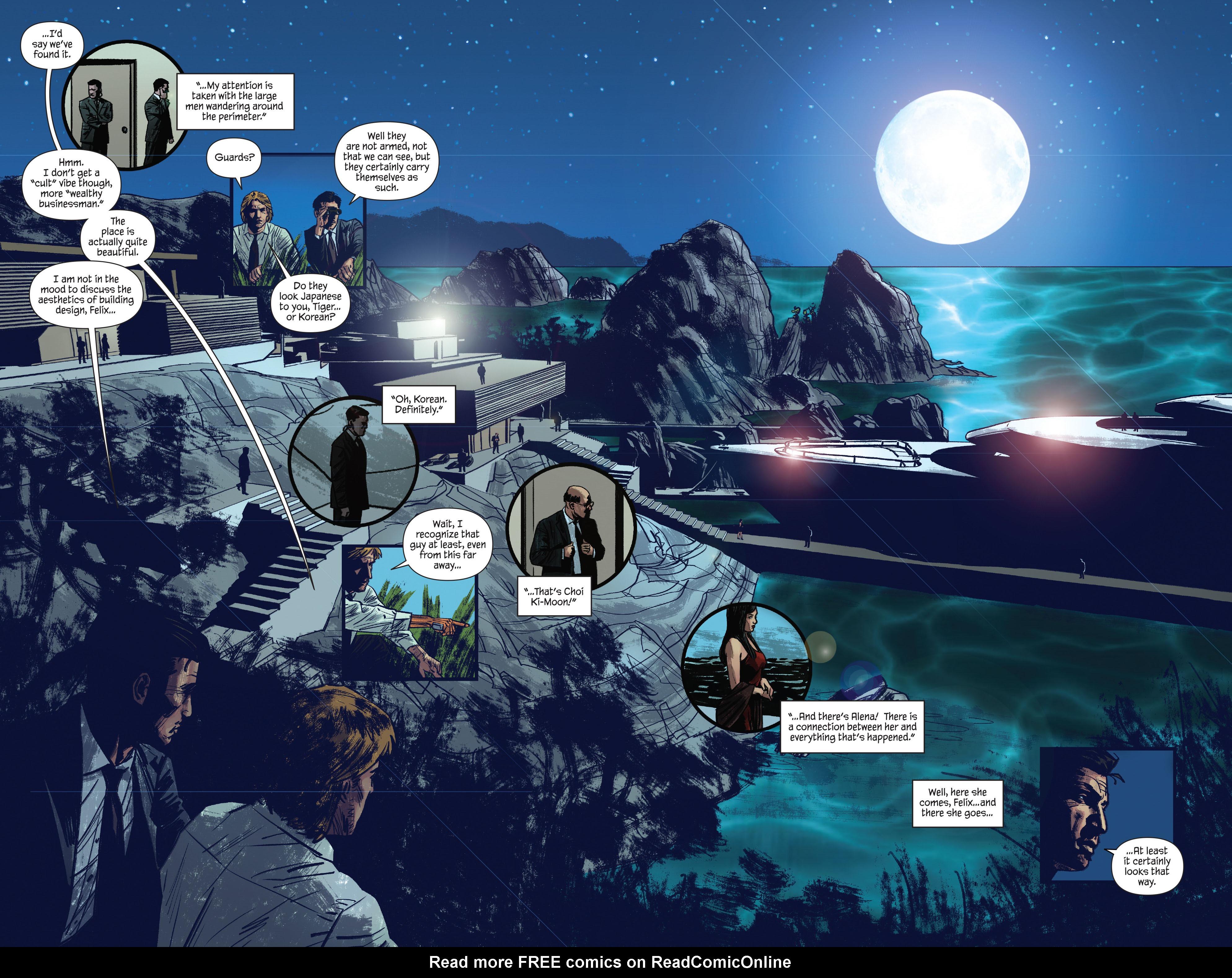 Read online James Bond: Felix Leiter comic -  Issue #4 - 16