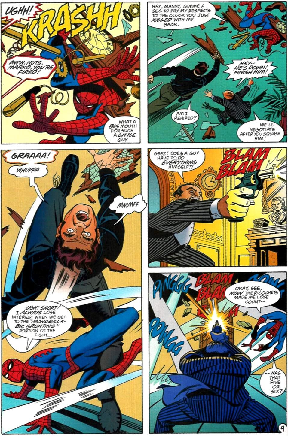 Read online Spider-Man: Lifeline comic -  Issue #2 - 10