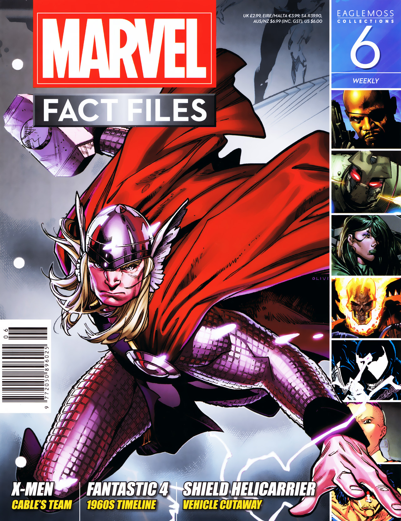 Marvel Fact Files 6 Page 1