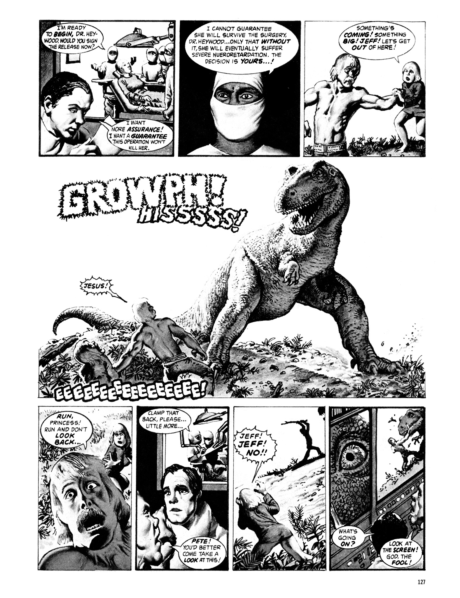 Read online Eerie Archives comic -  Issue # TPB 16 - 128