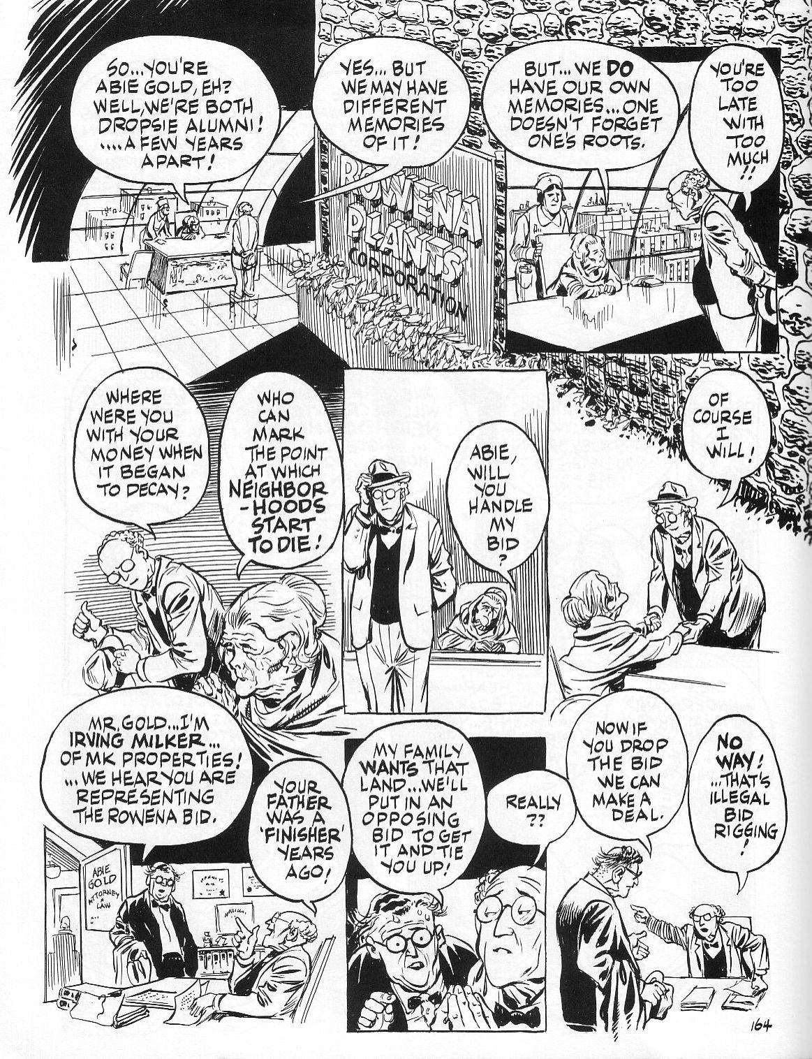 Read online Dropsie Avenue, The Neighborhood comic -  Issue # Full - 166