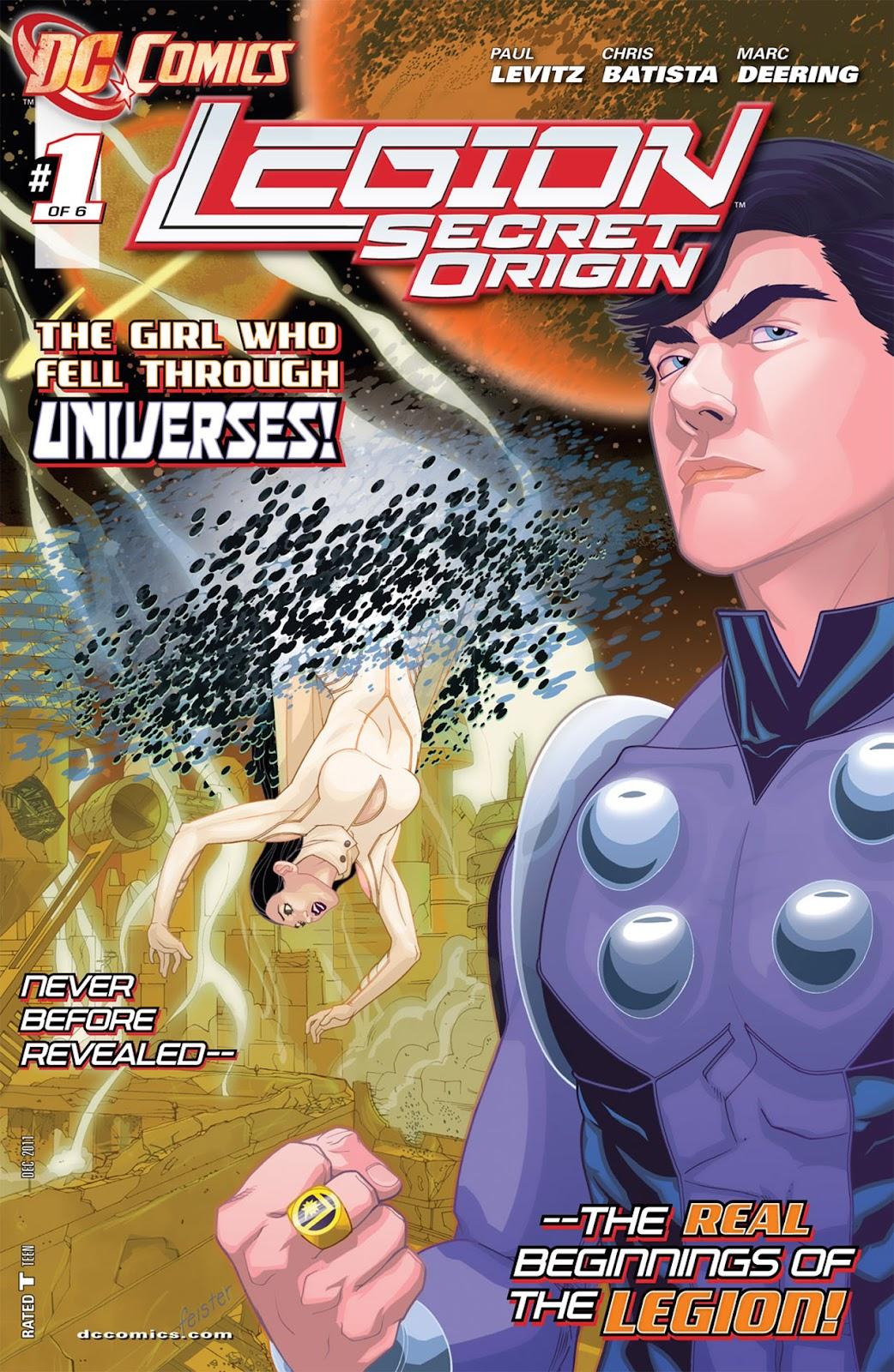Legion: Secret Origin 1 Page 1