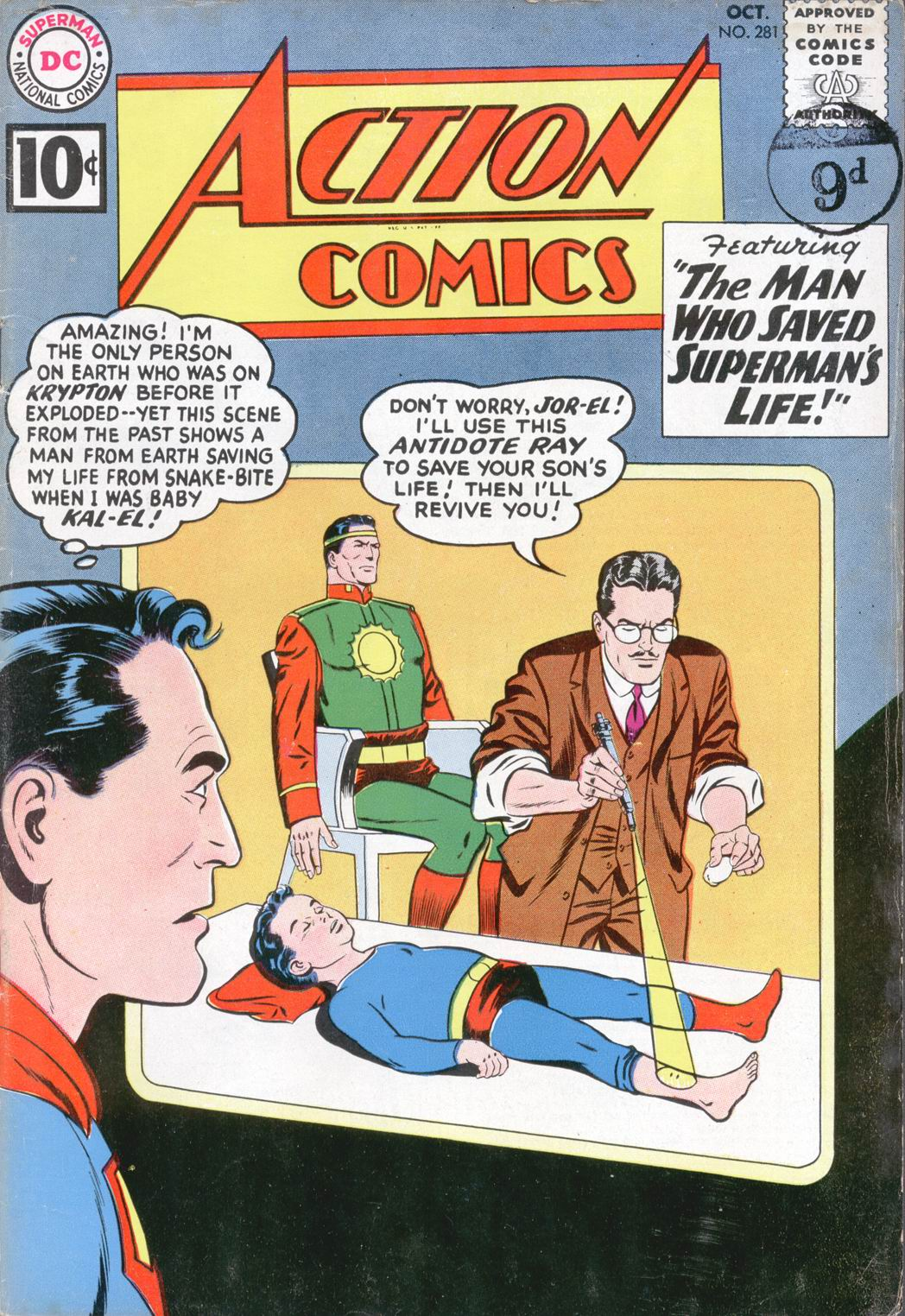Read online Action Comics (1938) comic -  Issue #281 - 1