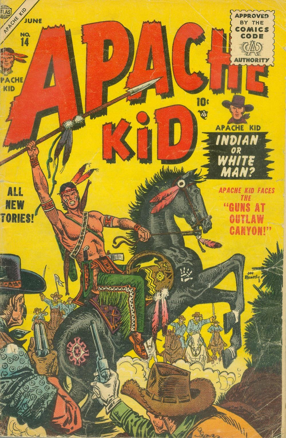 Apache Kid issue 14 - Page 1