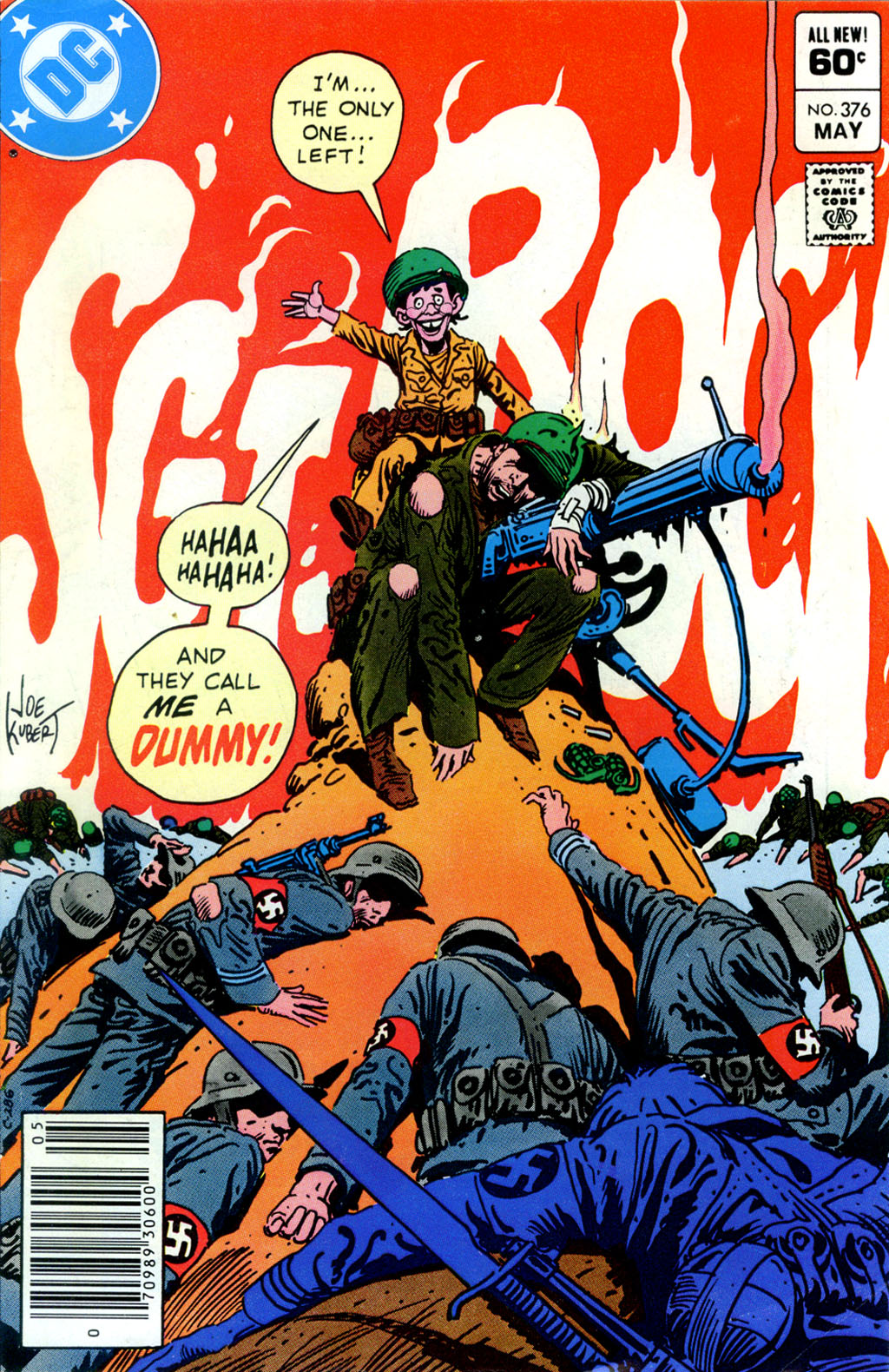 Sgt. Rock issue 376 - Page 1