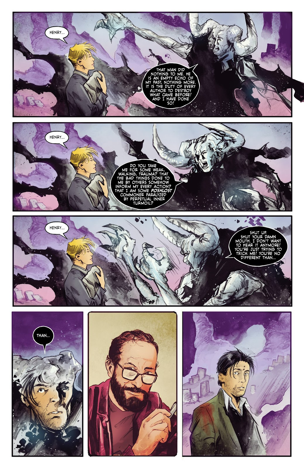 Read online Fearscape comic -  Issue #5 - 19