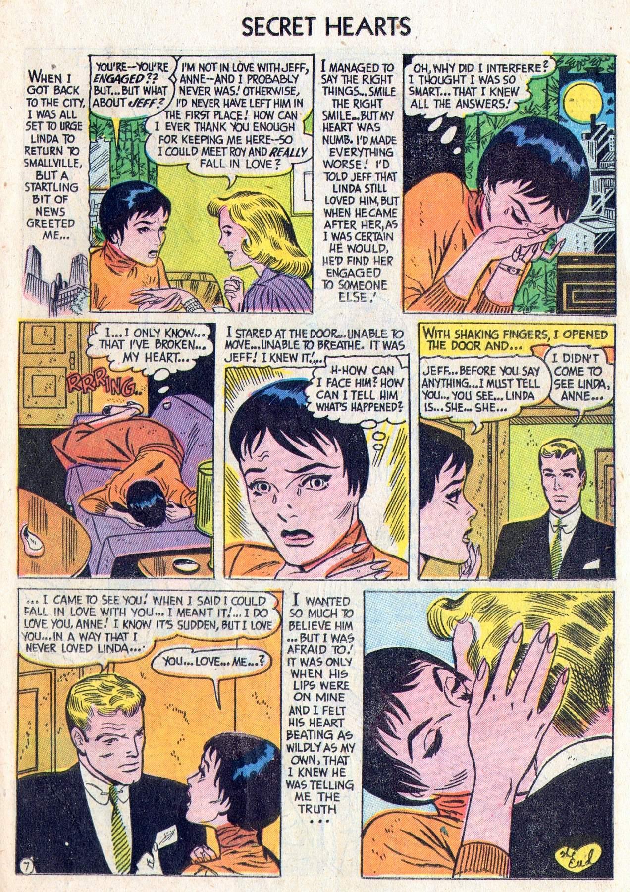 Read online Secret Hearts comic -  Issue #28 - 25