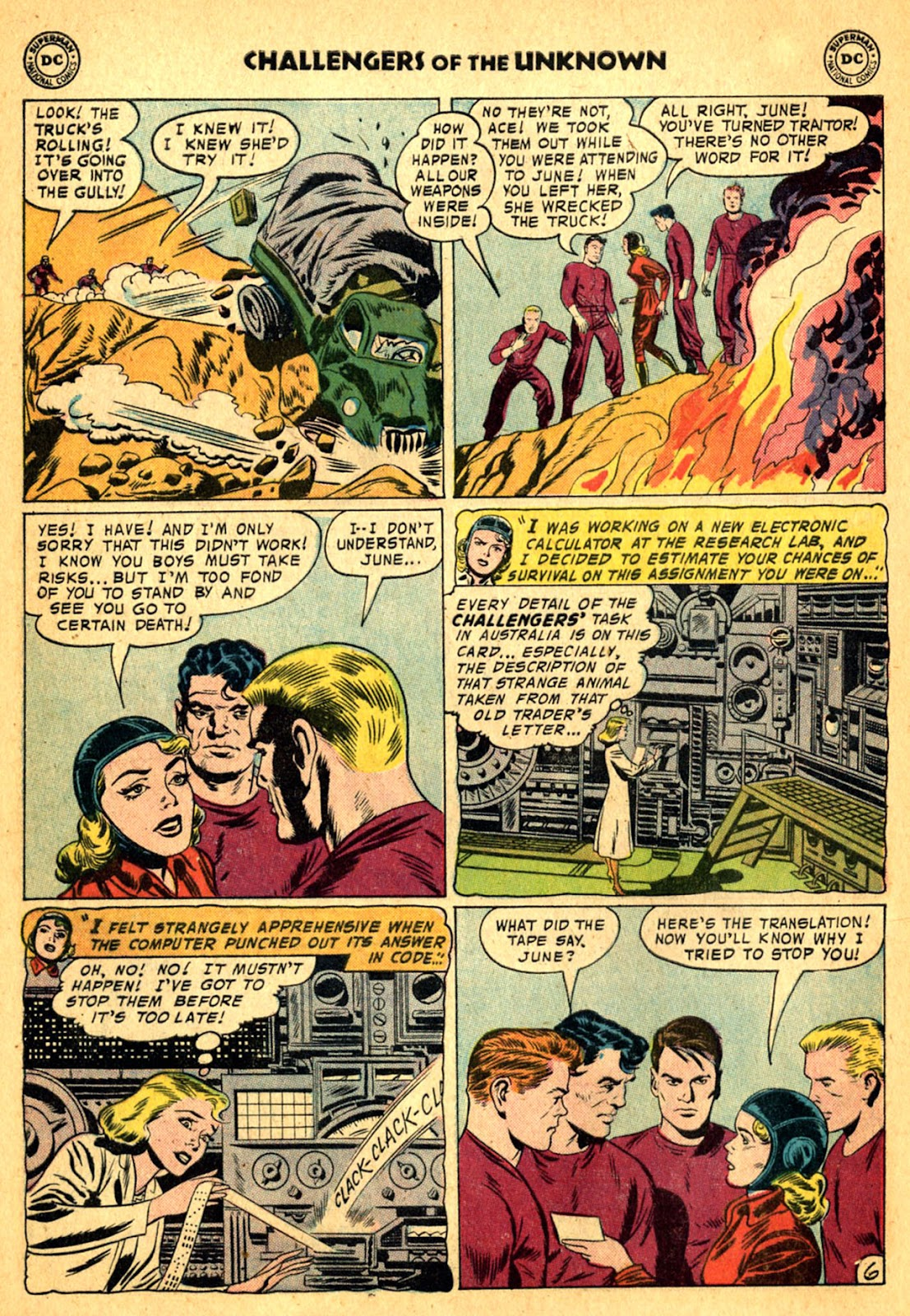 Challengers of the Unknown (1958) issue 2 - Page 8