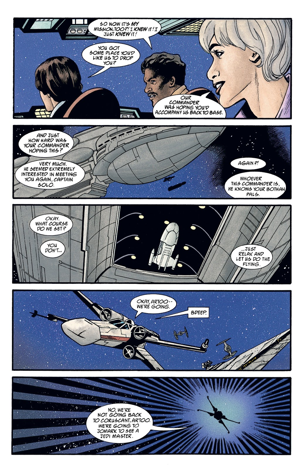 Read online Star Wars Legends: The New Republic - Epic Collection comic -  Issue # TPB 4 (Part 2) - 89