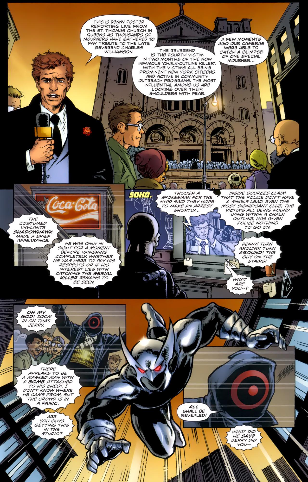 Read online ShadowHawk (2010) comic -  Issue #1 - 4