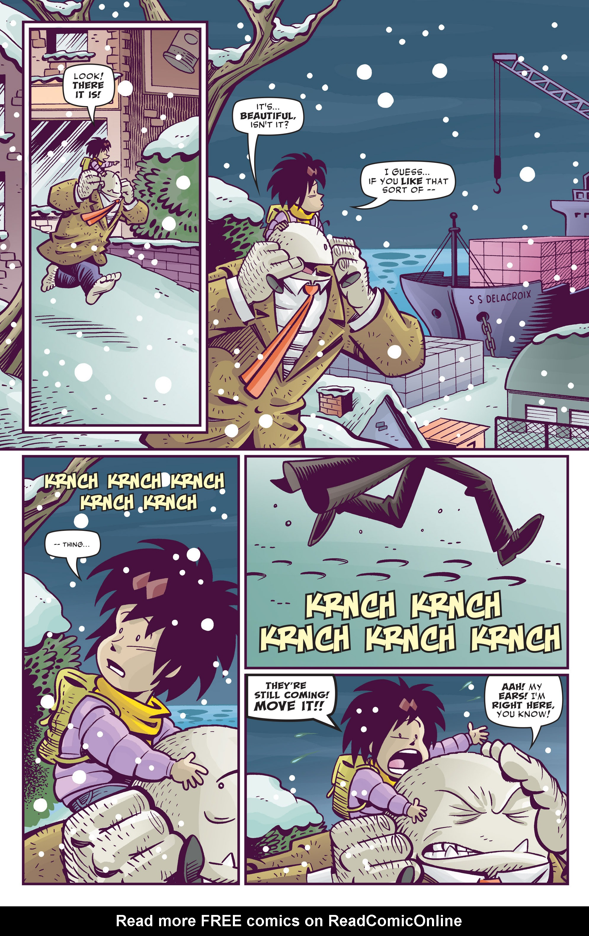Read online Abigail And The Snowman comic -  Issue #4 - 16