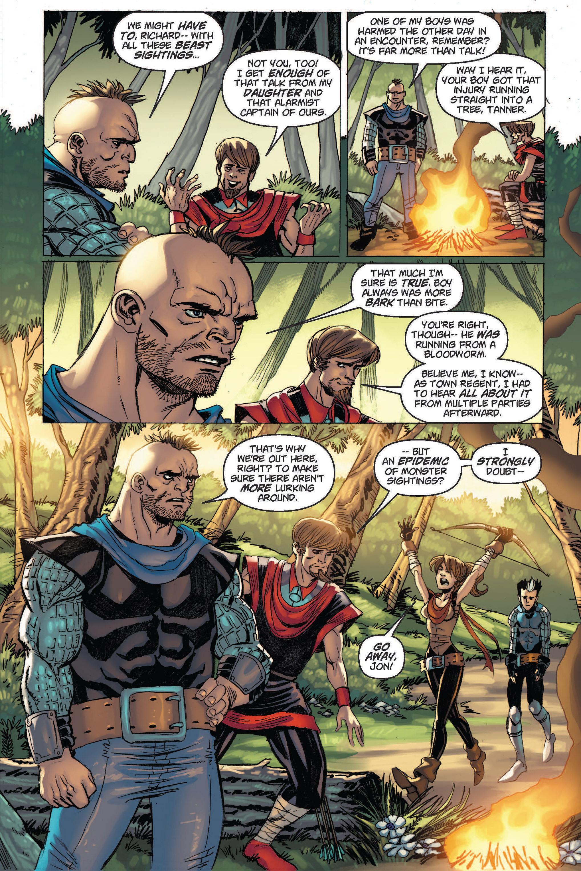Read online Skyward comic -  Issue #2 - 6